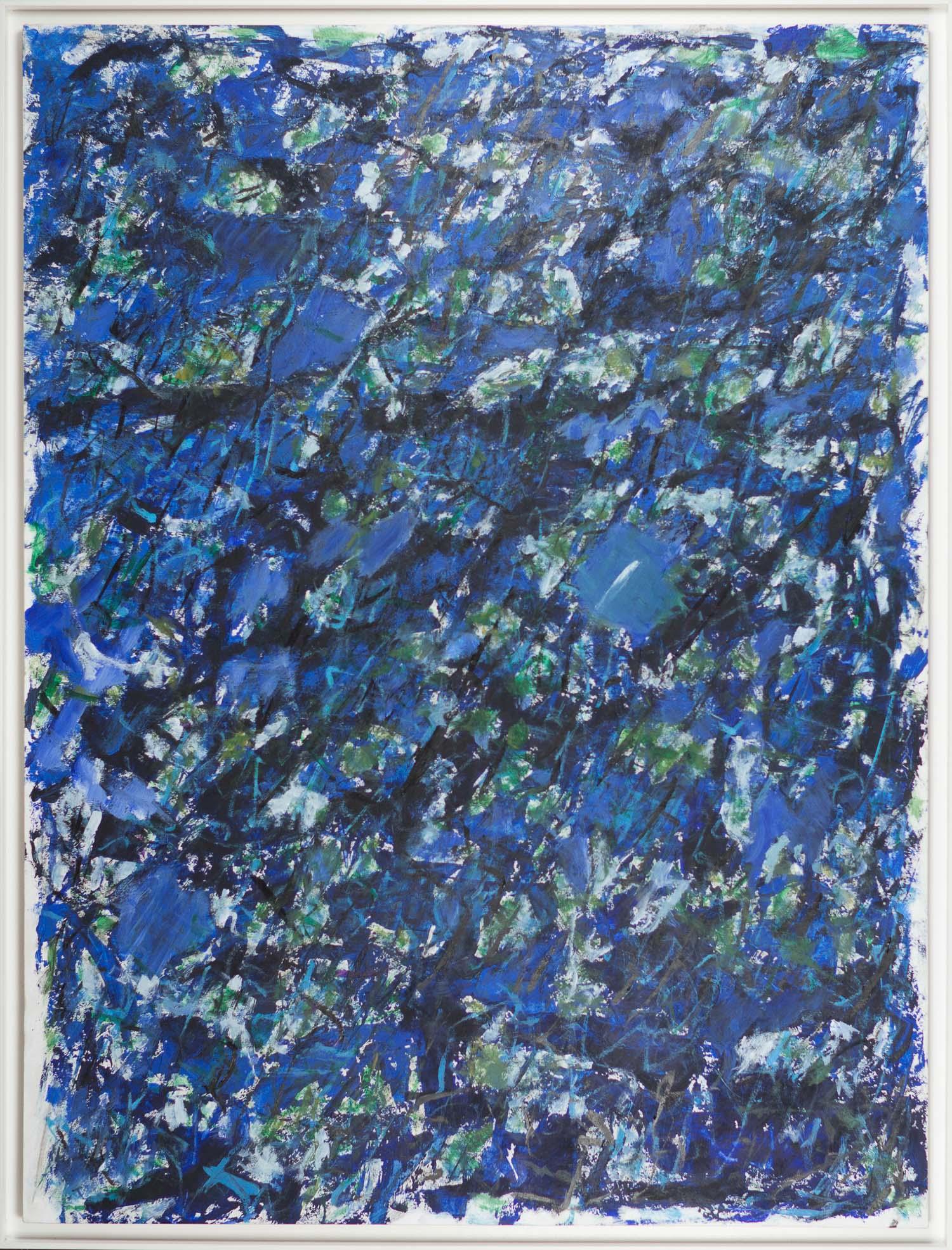 Den blå trädgården / The blue garden