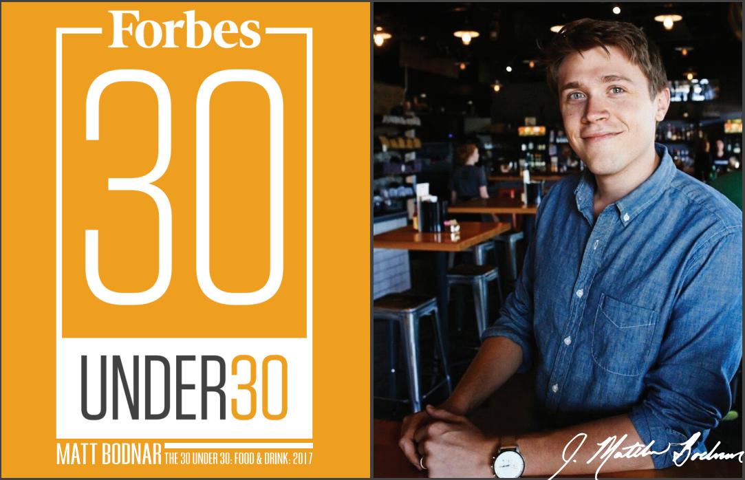 Matt Bodnar Forbes 30 Under 30
