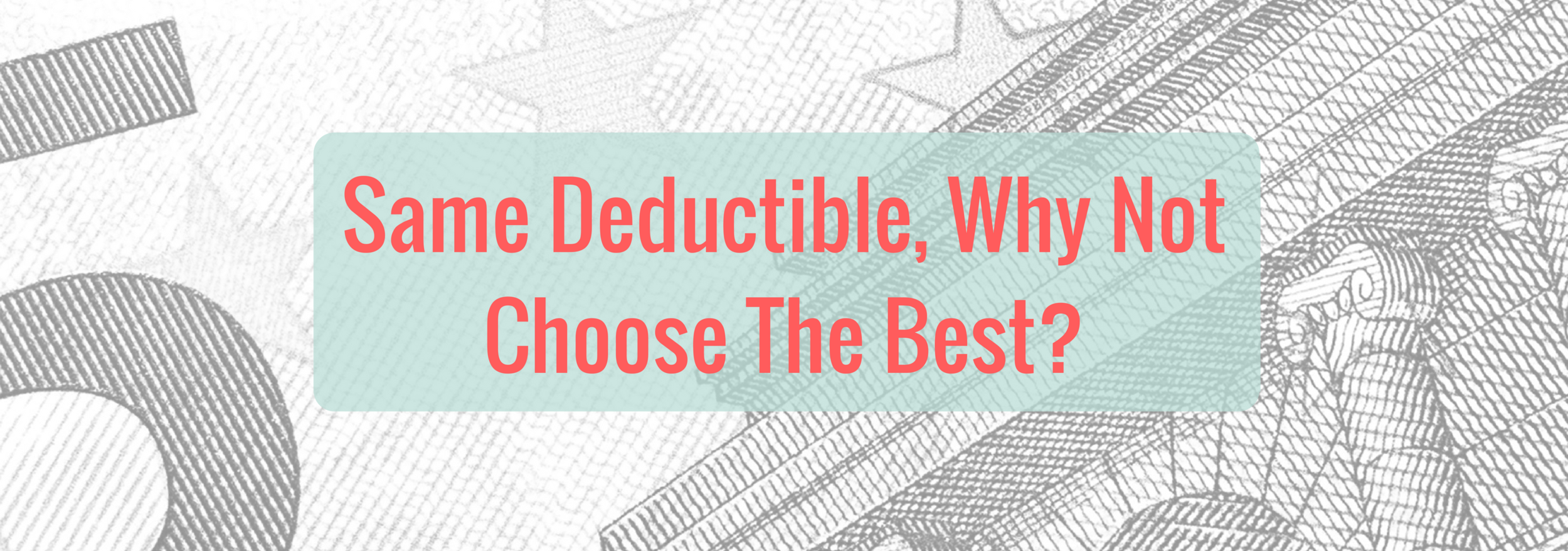 If your insurance covers anything why not go with the best...it's the same deductible