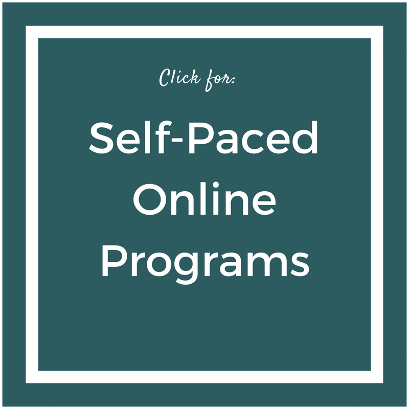 Self Paced 1-on-1 Help Options