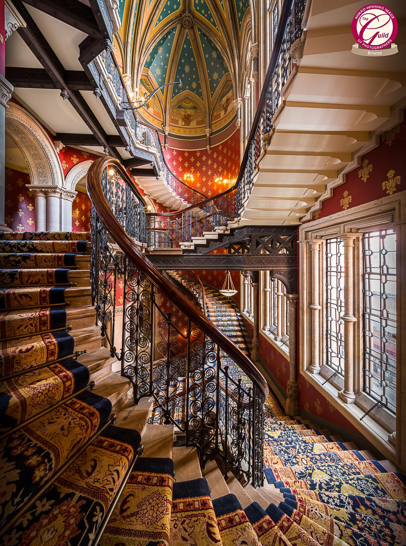 Grand Staircase, Renaissance Kings Cross, London