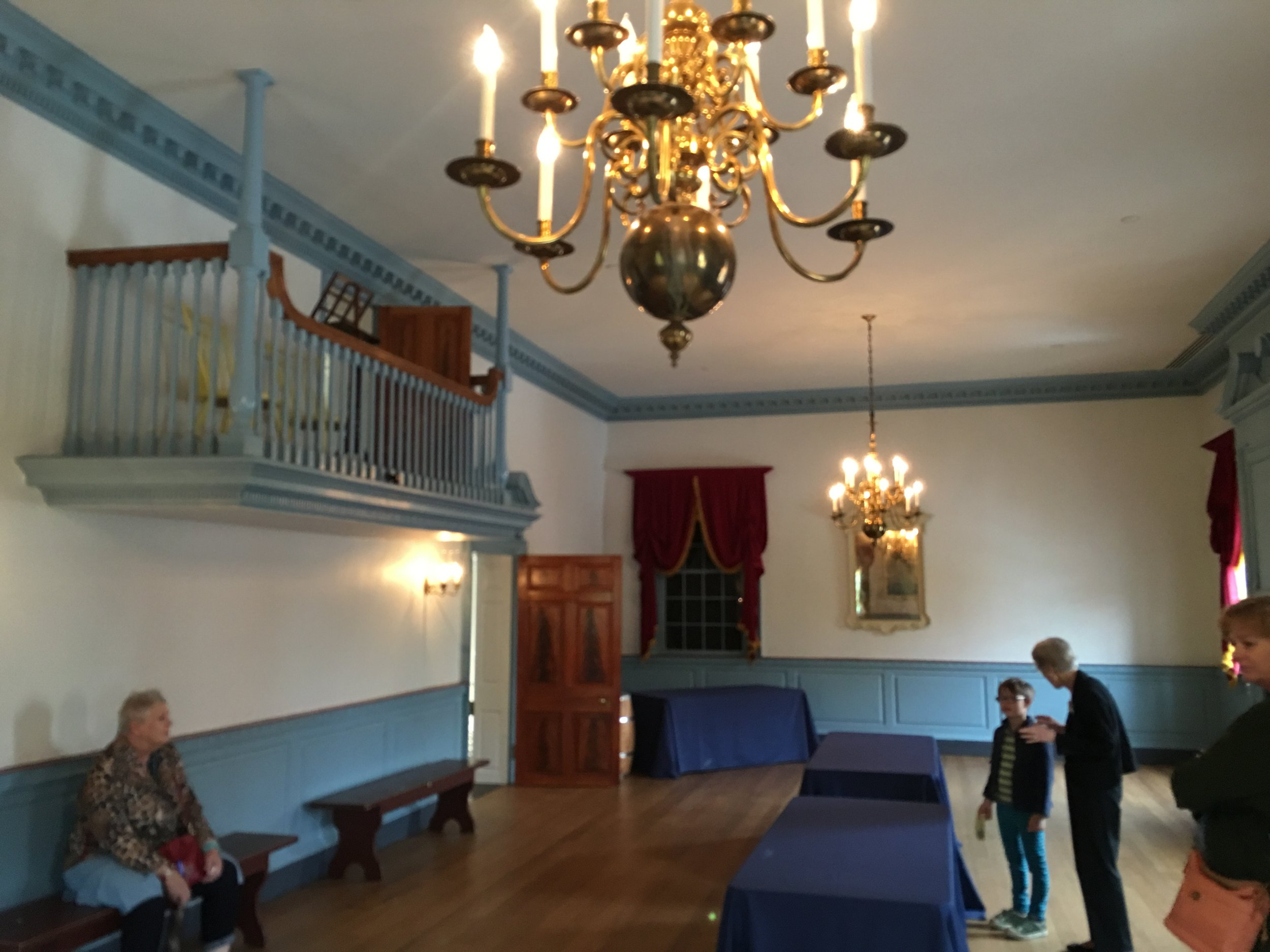 Gadsby's Tavern Museum Ballroom, Alexandria, VA