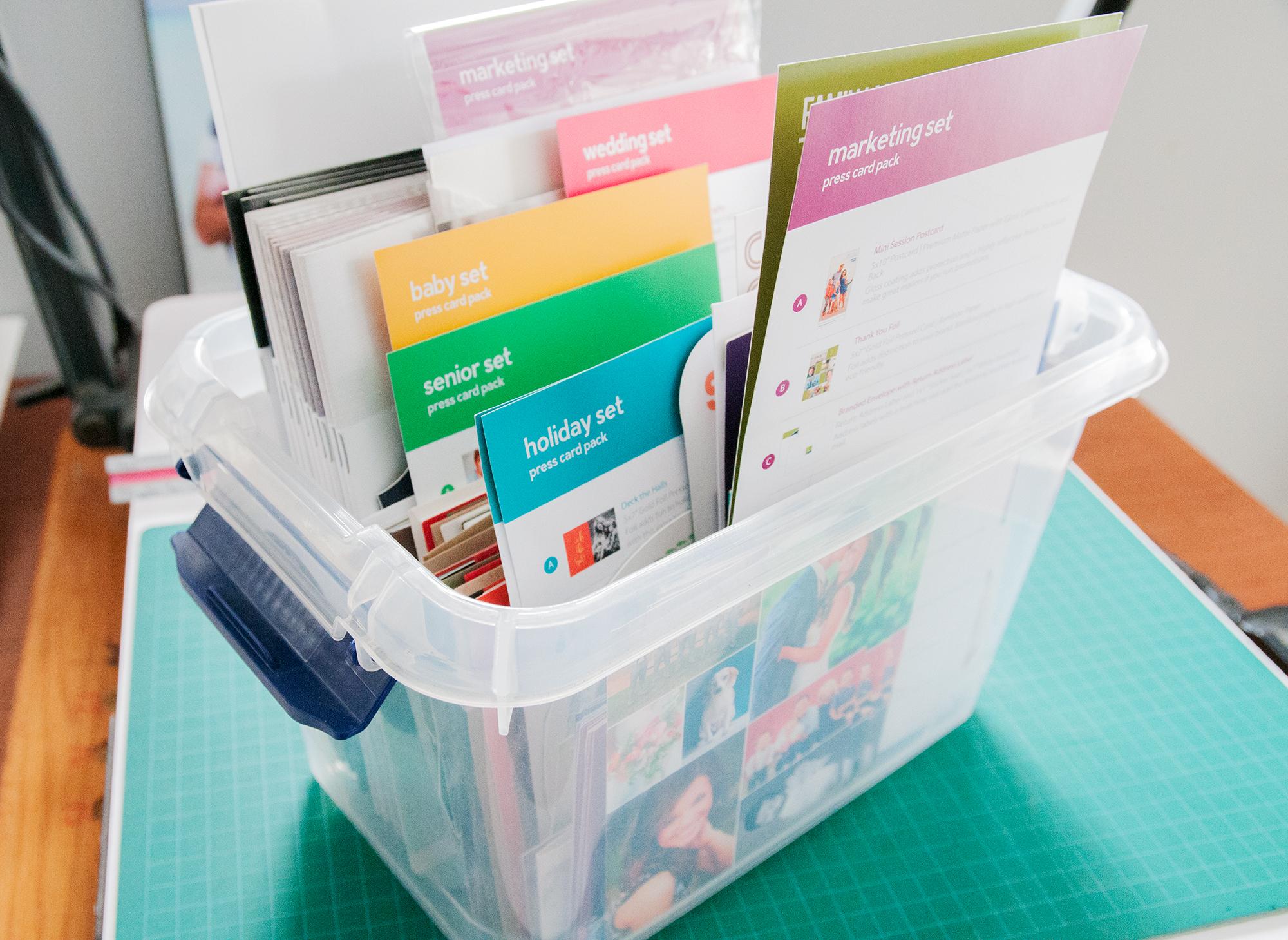 Card Stock & Paper Samples