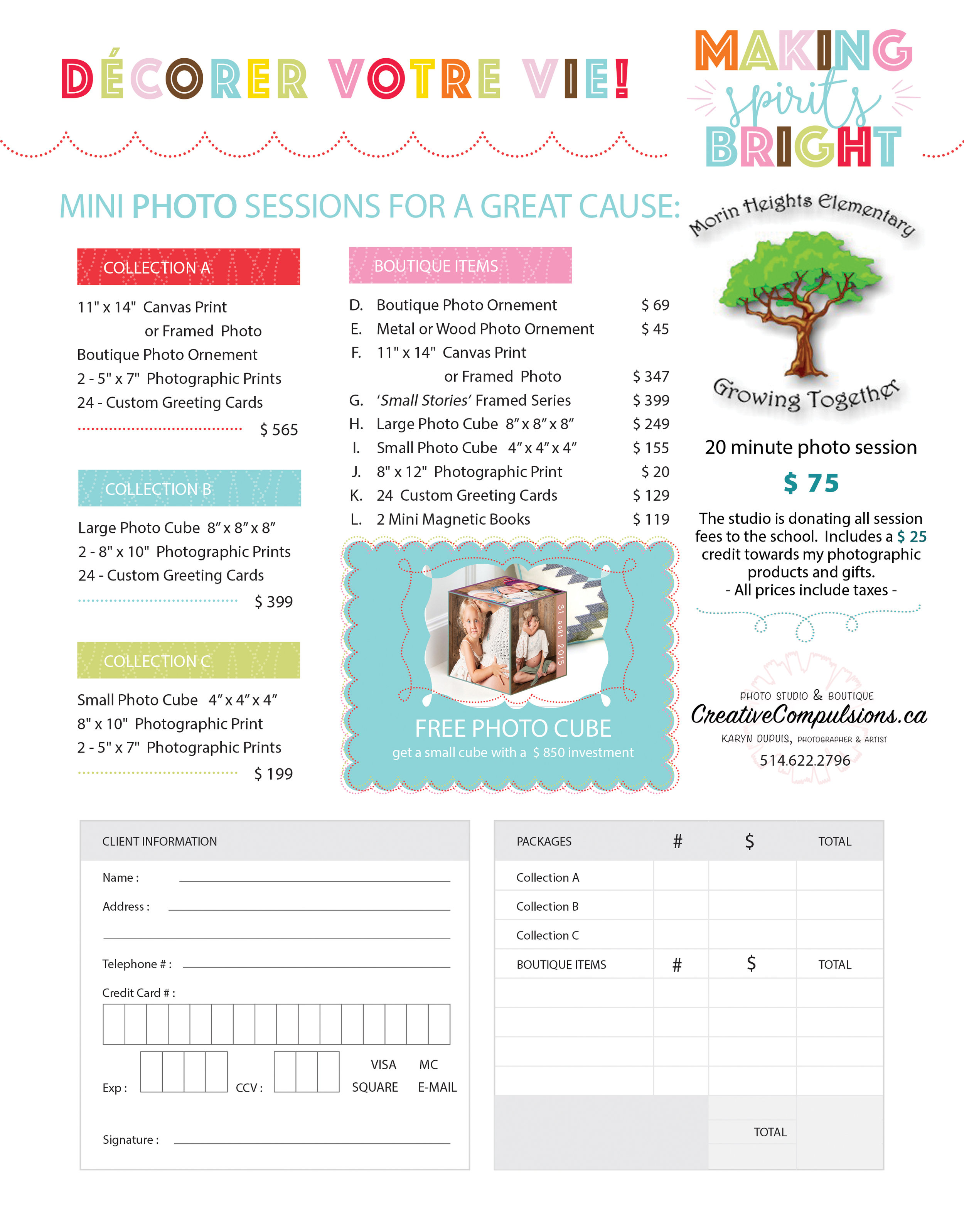 Collections for the holidays - Great packages to offer gifts and memorable artwork to family !Get your greeting cards, ornements and captured moments here !