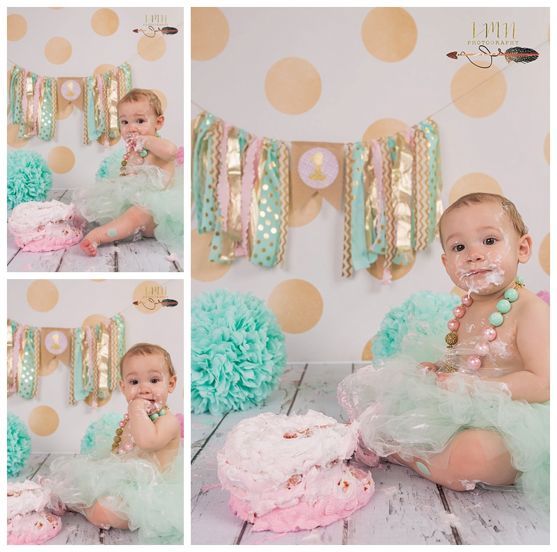 Tomball TX 1st Birthday Photography