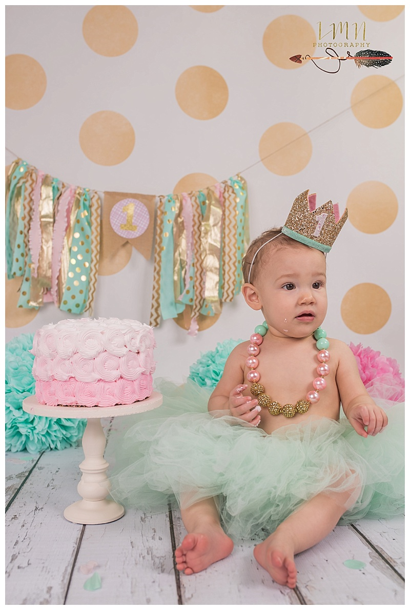 Spring Texas 1st Birthday Photography