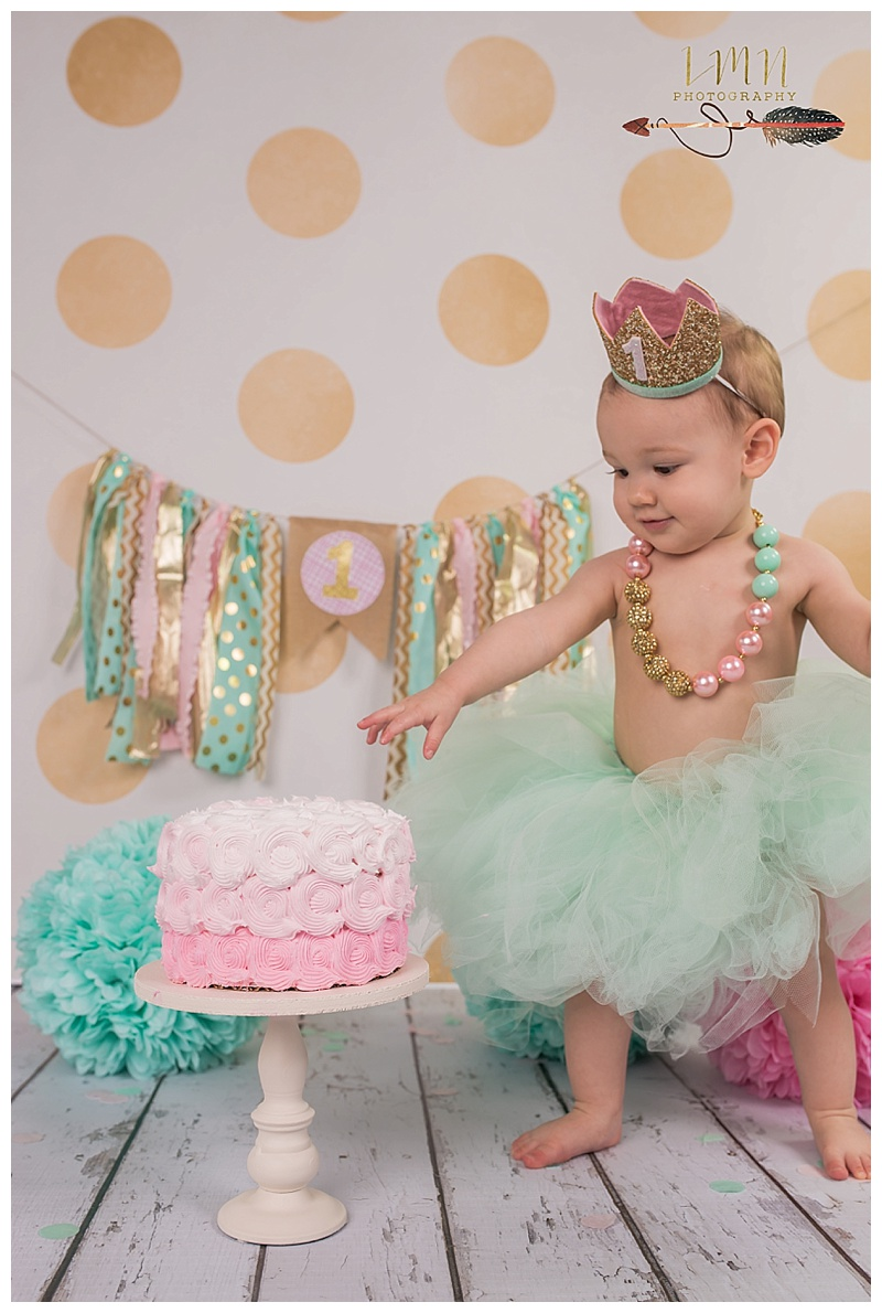 Spring TX 1st Birthday Photography