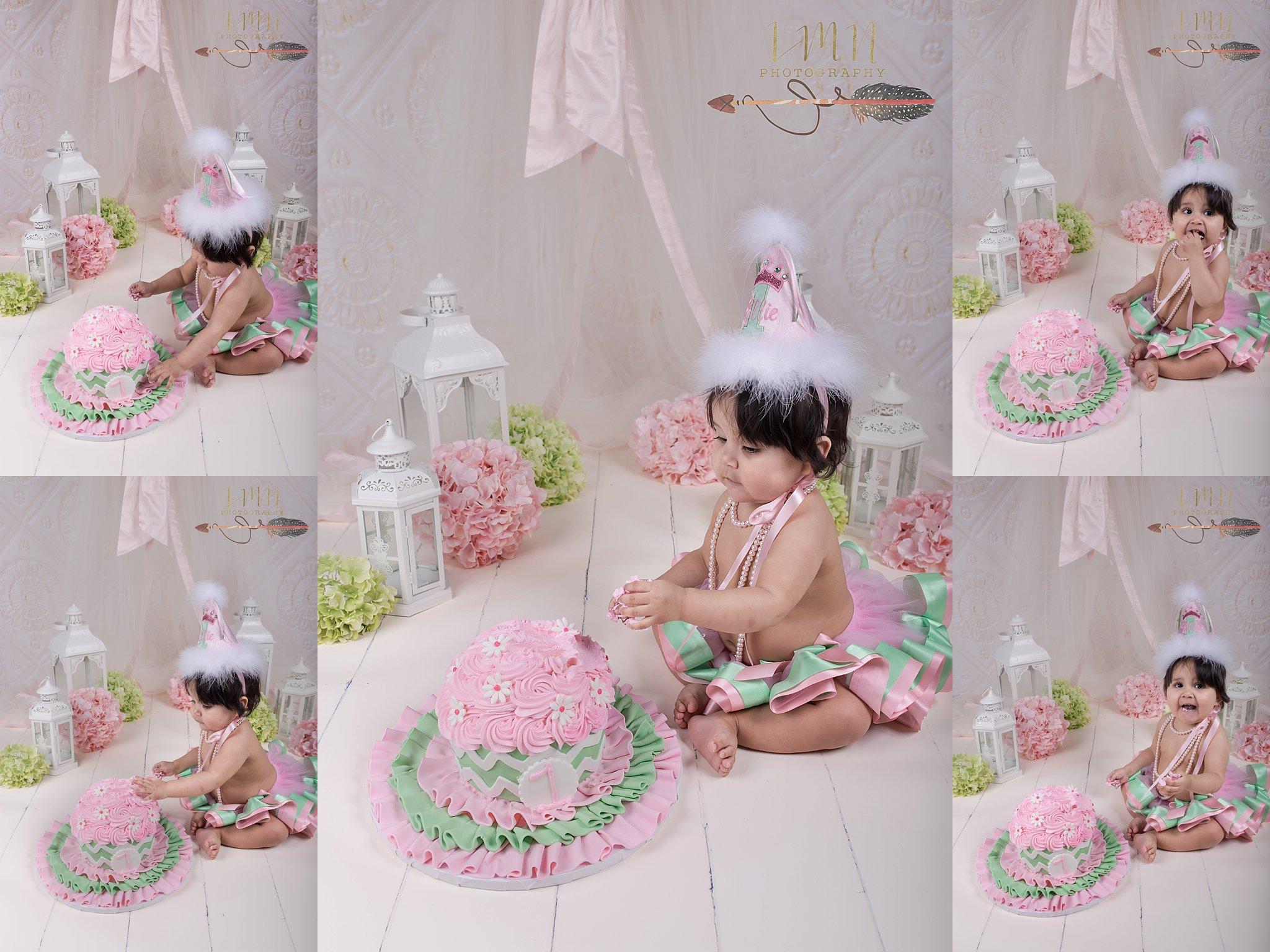 Cypress TX Cake Smash Photography 77433 77429