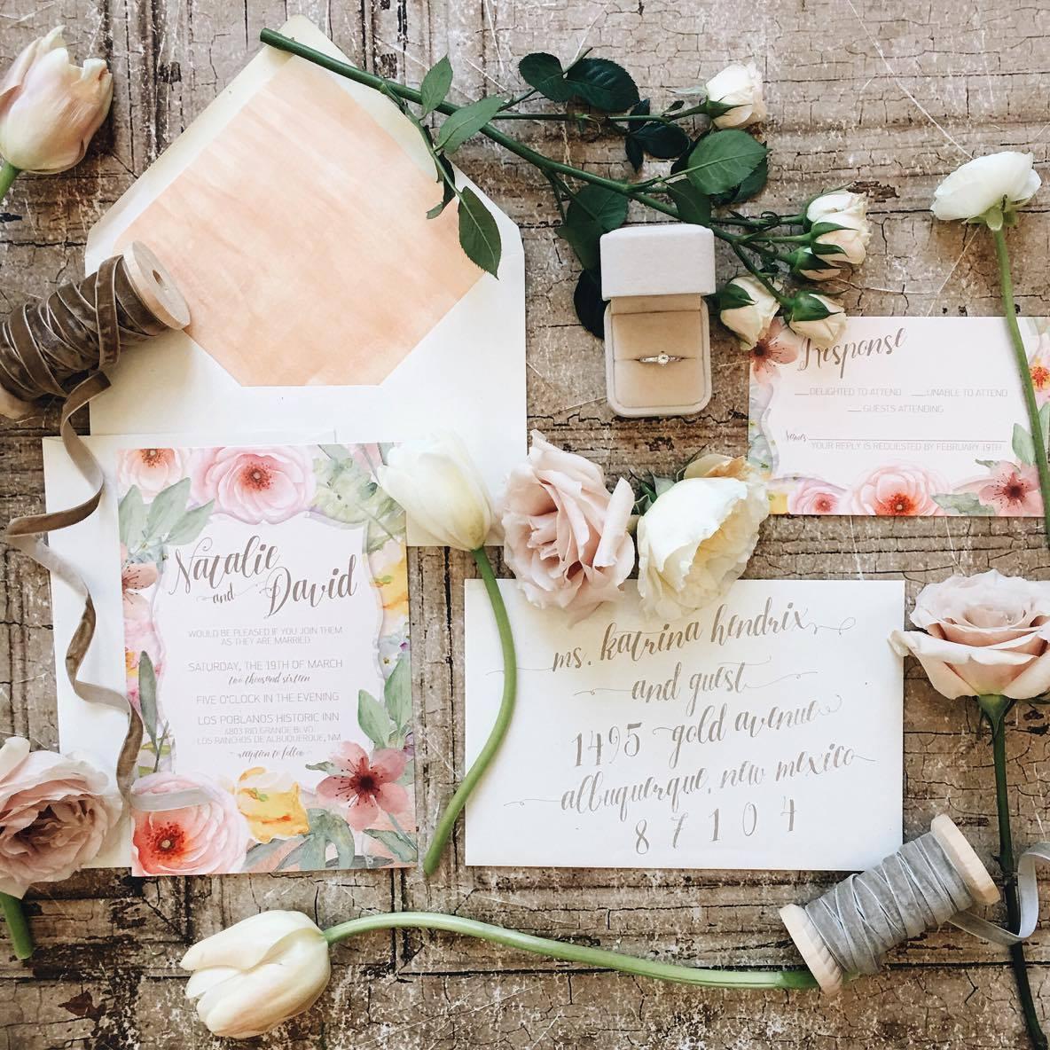Enchanted Garden Invitations