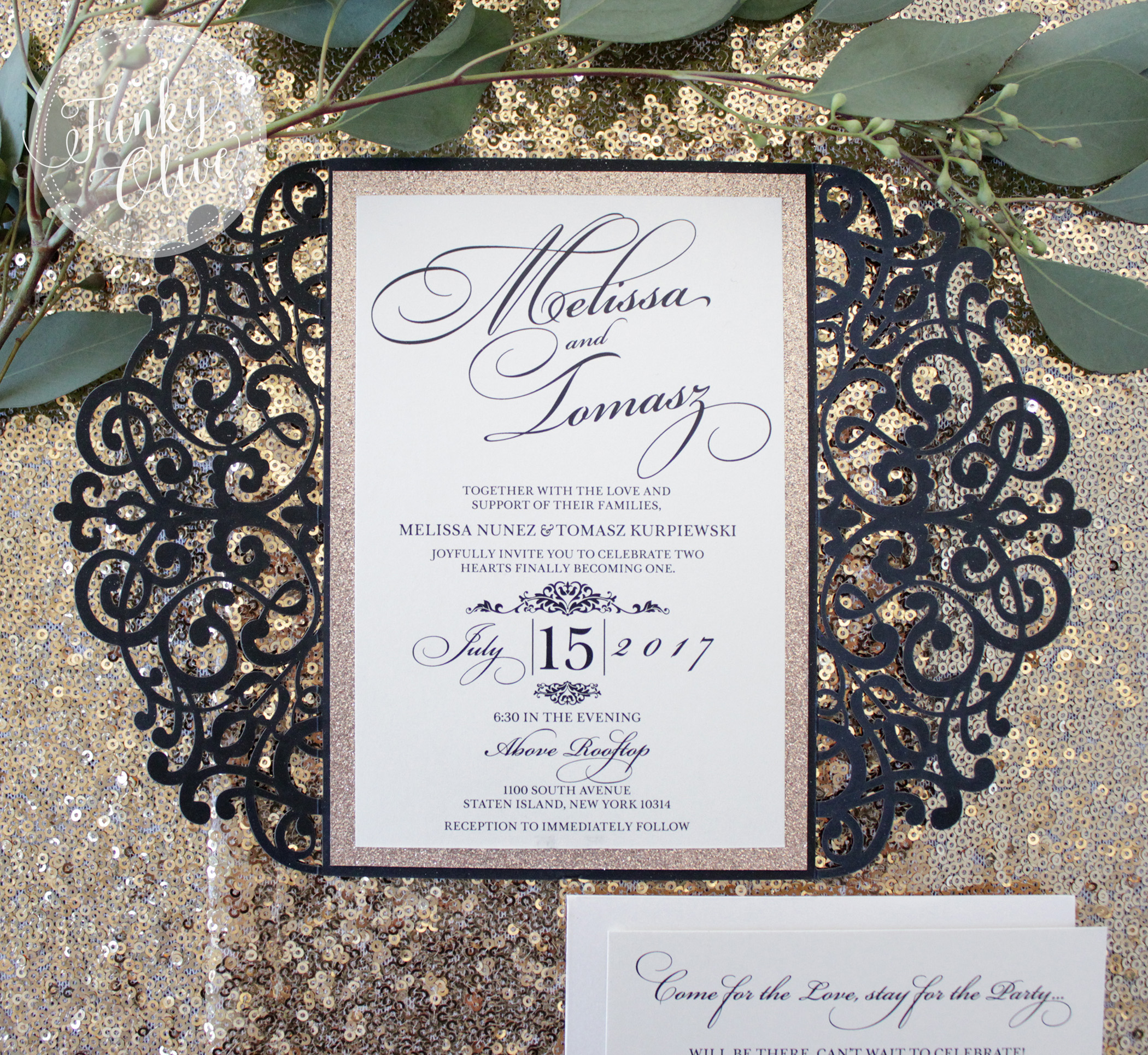 Laser Cut Backings - Intricate and elegant. Perfect with paired with glitter backings.