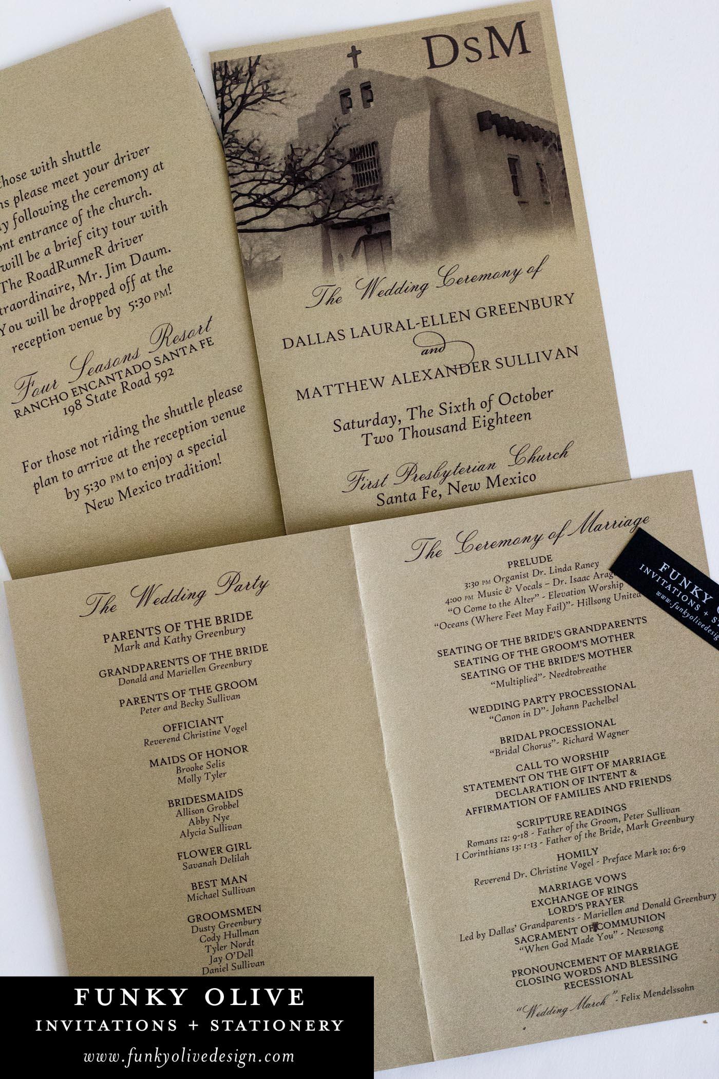 GOLD LEAF FOLDED WEDDING PROGRAM (2).jpg