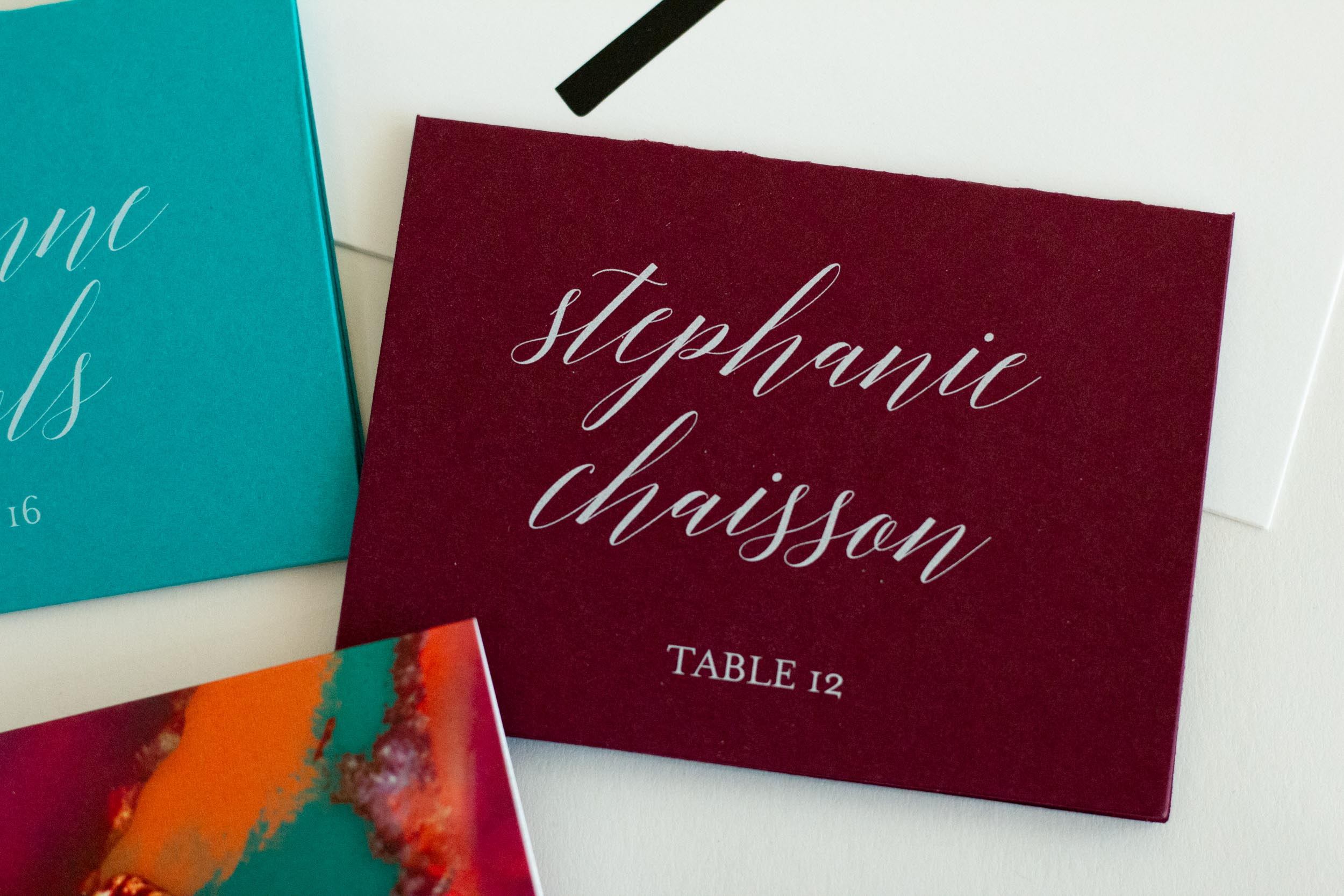 BOLD COLORFUL WHITE INK PLACE CARDS-5.jpg