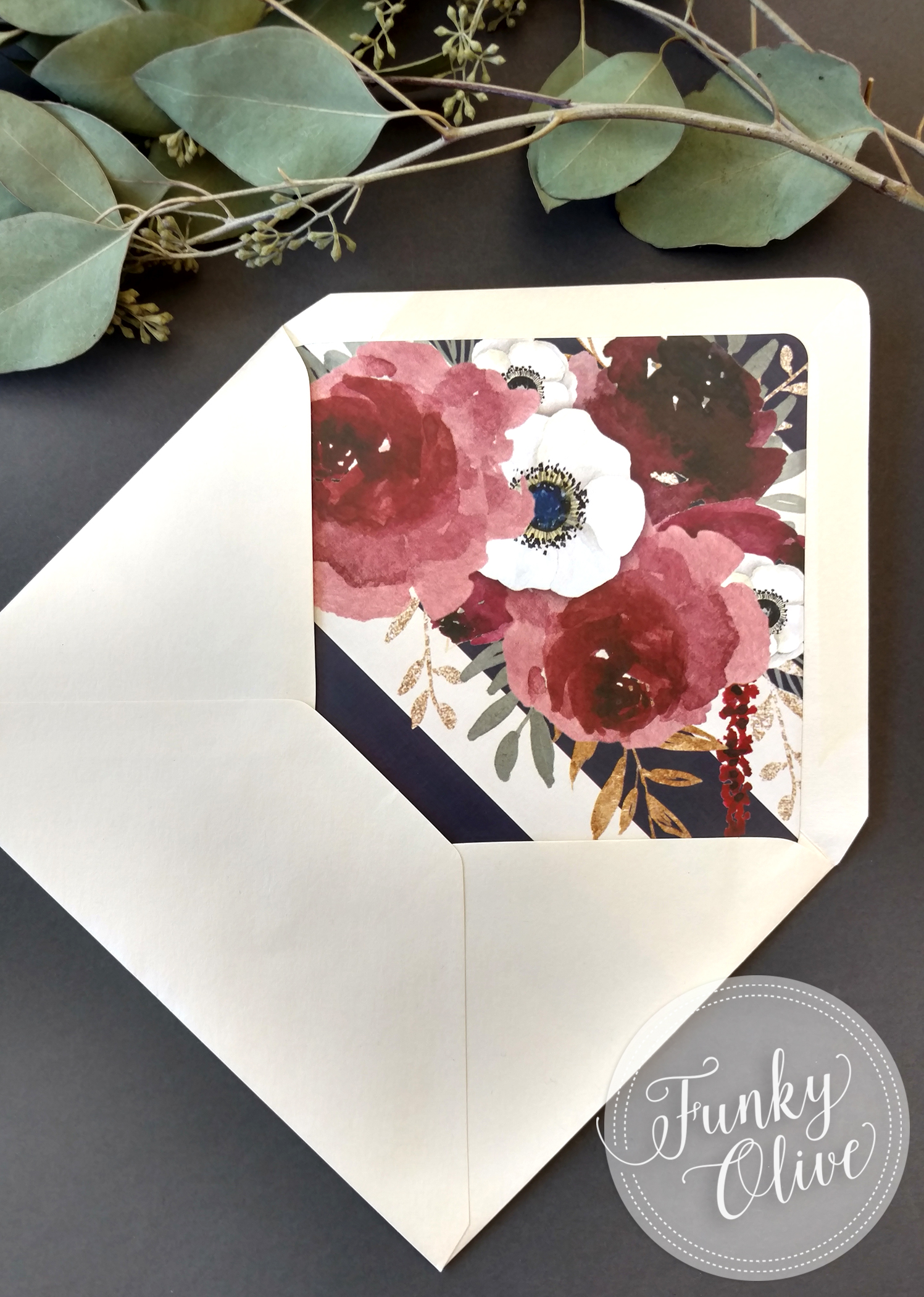Envelope Liners - An extra something special to dress up any envelope.