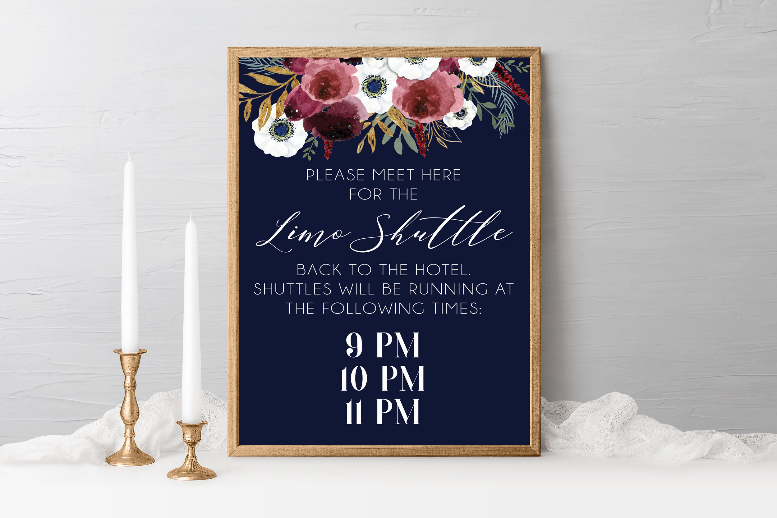 BURGUNDY ROSES & ANEMONE ON NAVY SHUTTLE SIGN.jpg