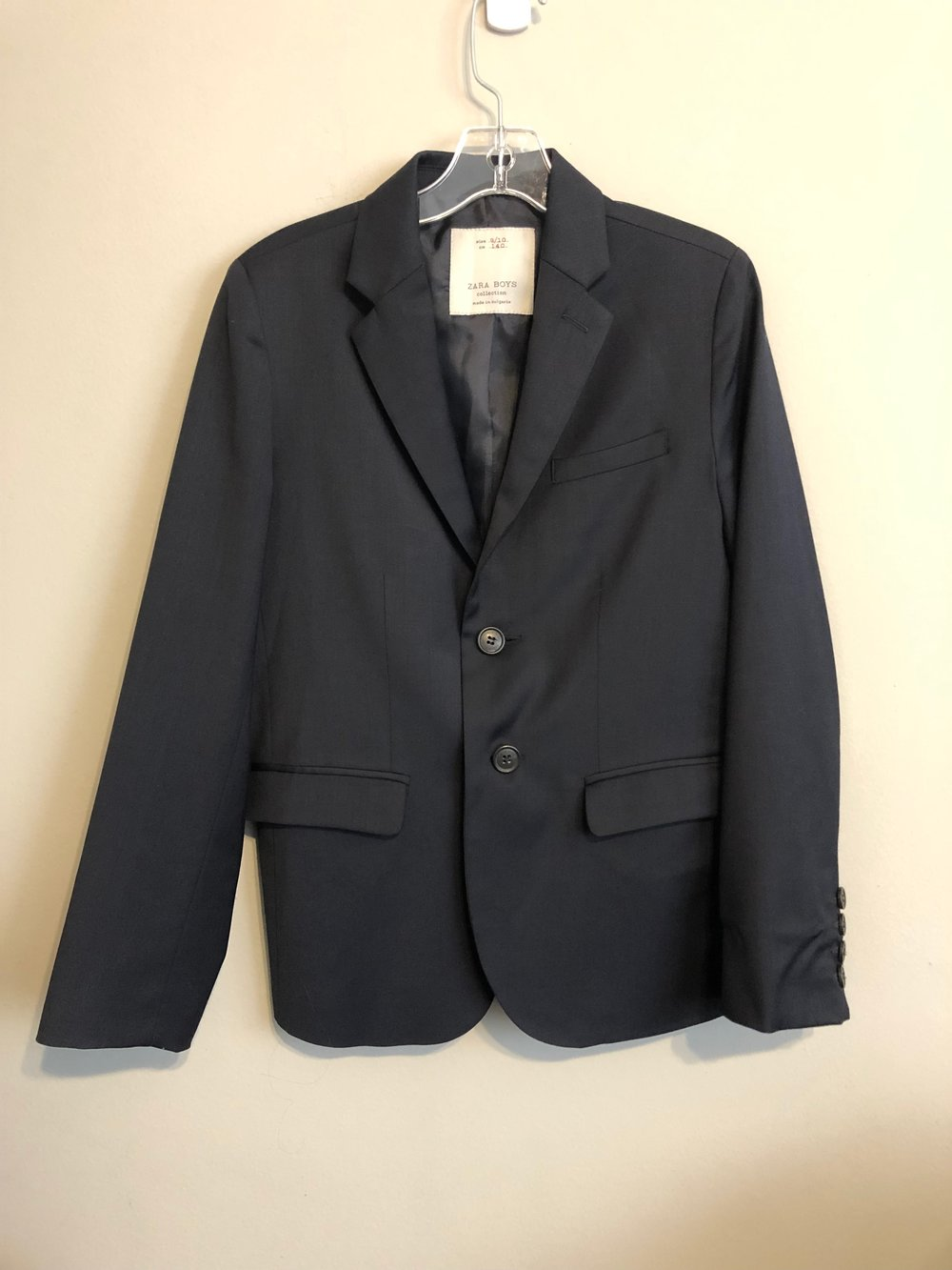 "size 39/"" Girl/'s navy blue blazer brand new with tags"