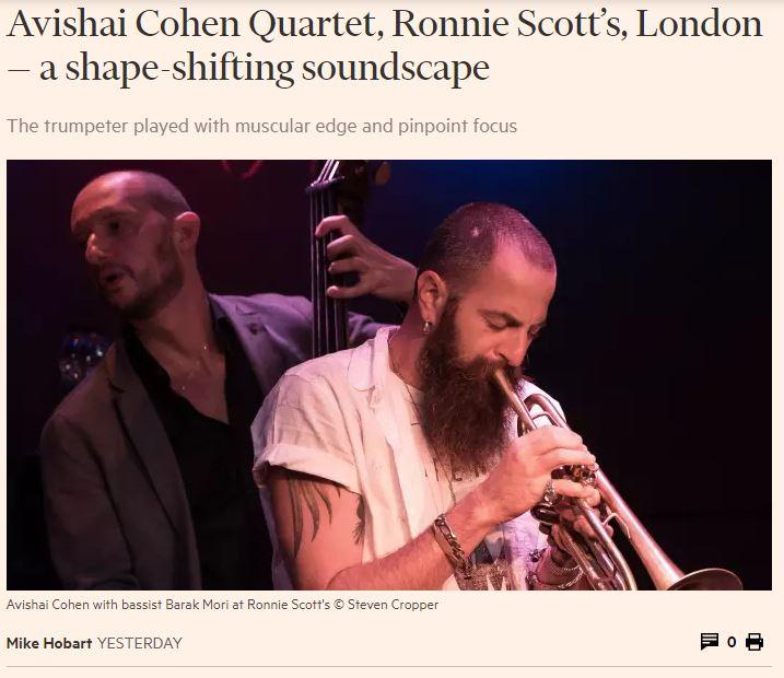 Avishai Cohen_Financial Times