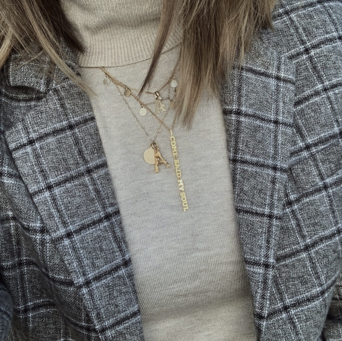 Angelina  from Paris wears it in 18K gold, see her Instagram feature  here
