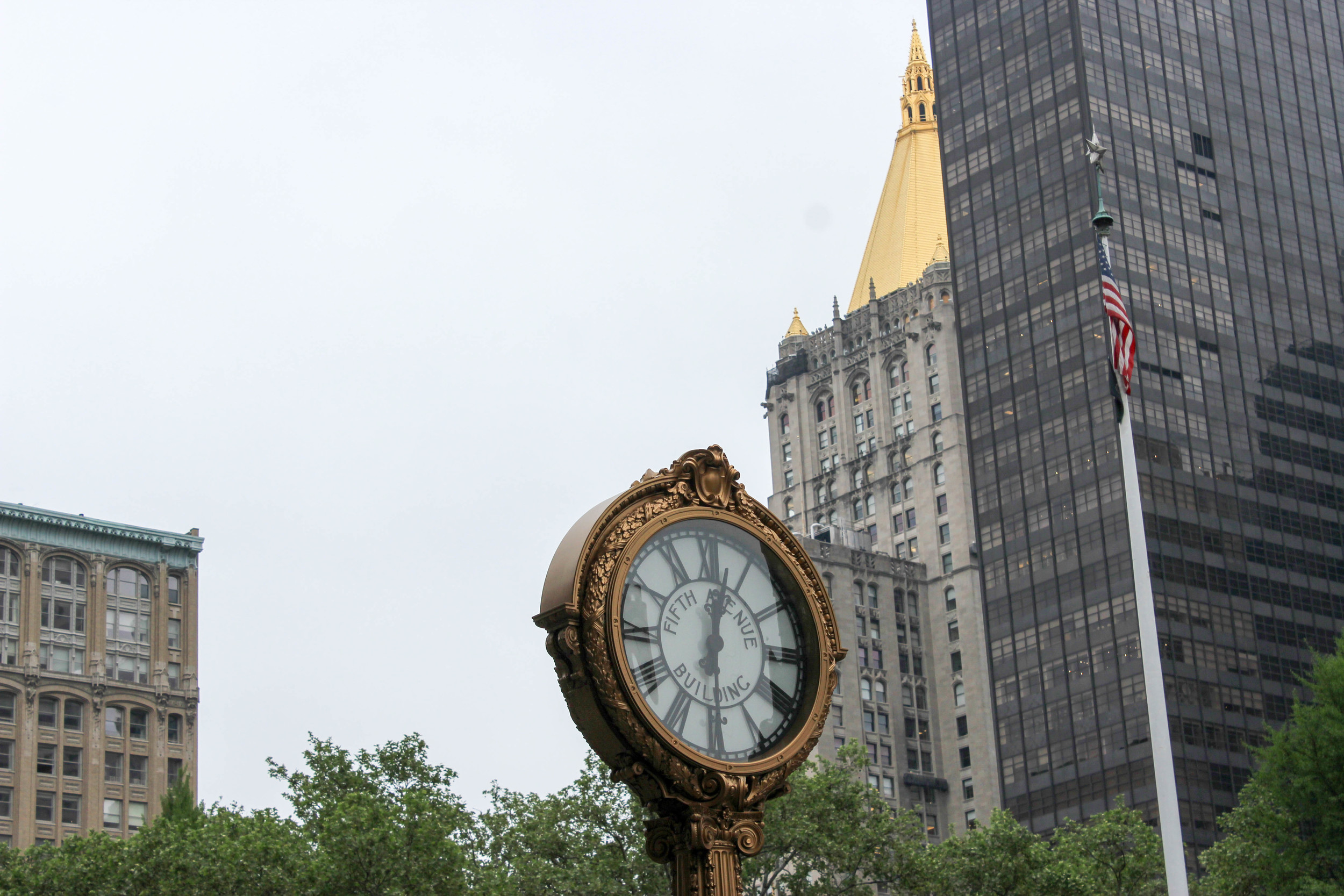 Manhattan, New York City, Midtown, Architecture, Street View, Fifth Avenue