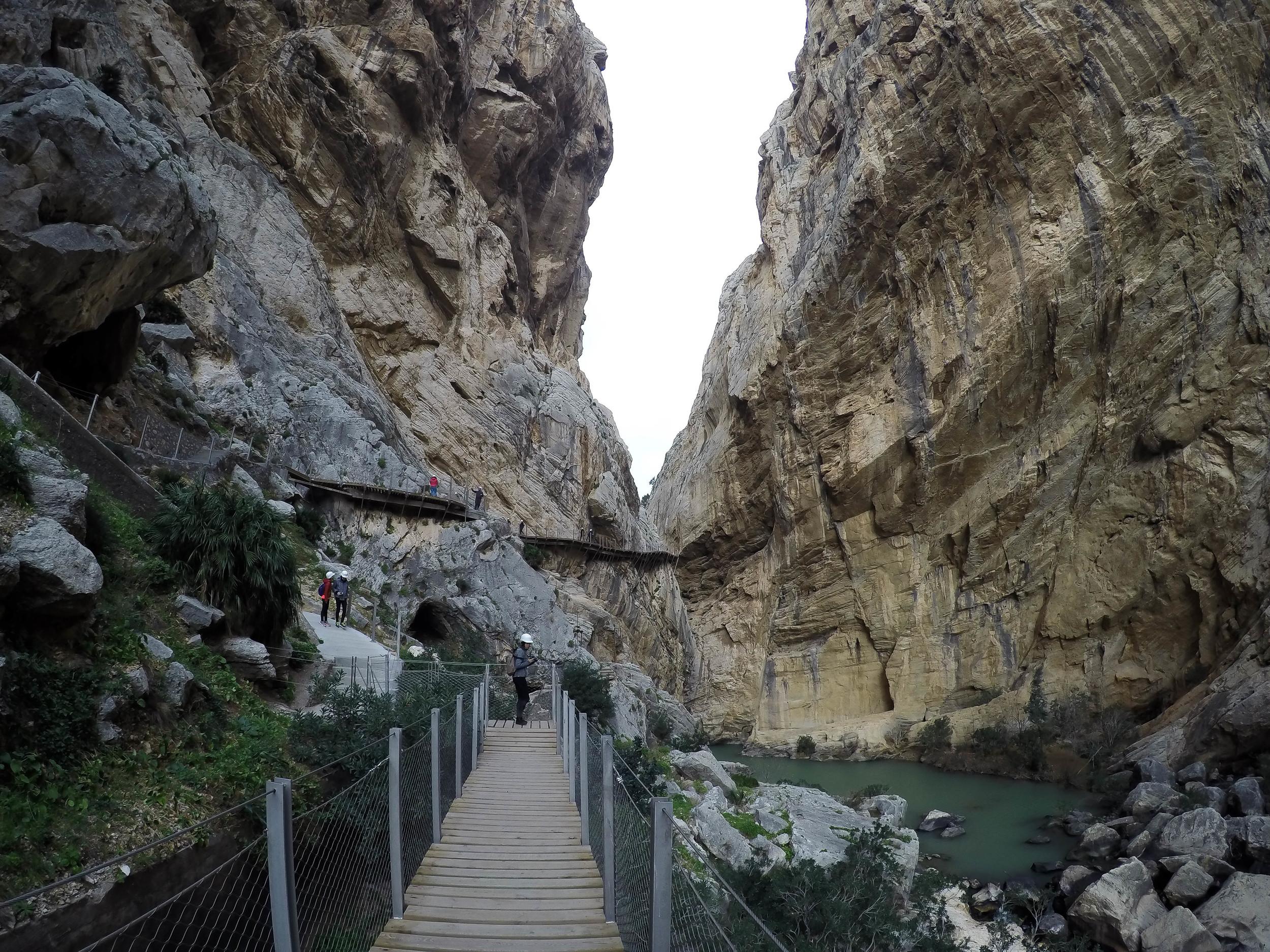 El Caminito del Rey, Andalucia, Spain, Europe | www.DoLessGetMoreDone.com |