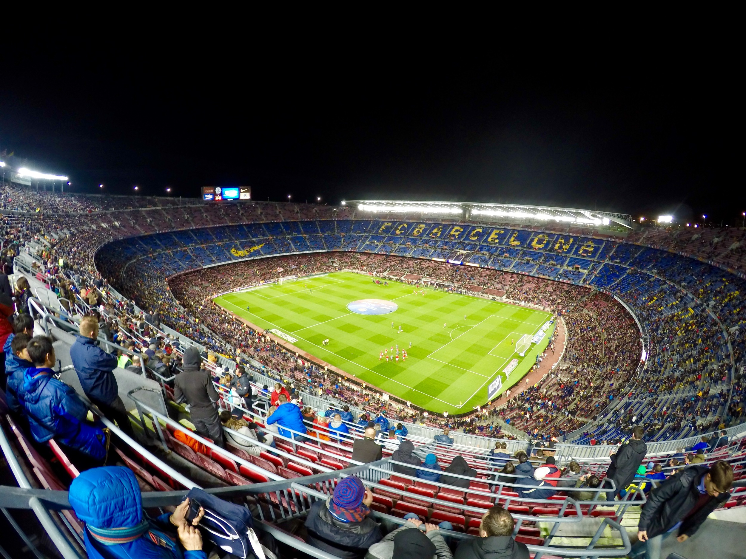 Nou Camp, FC Barcelona, Barcelona, Spain, Europe | www.DoLessGetMoreDone.com |