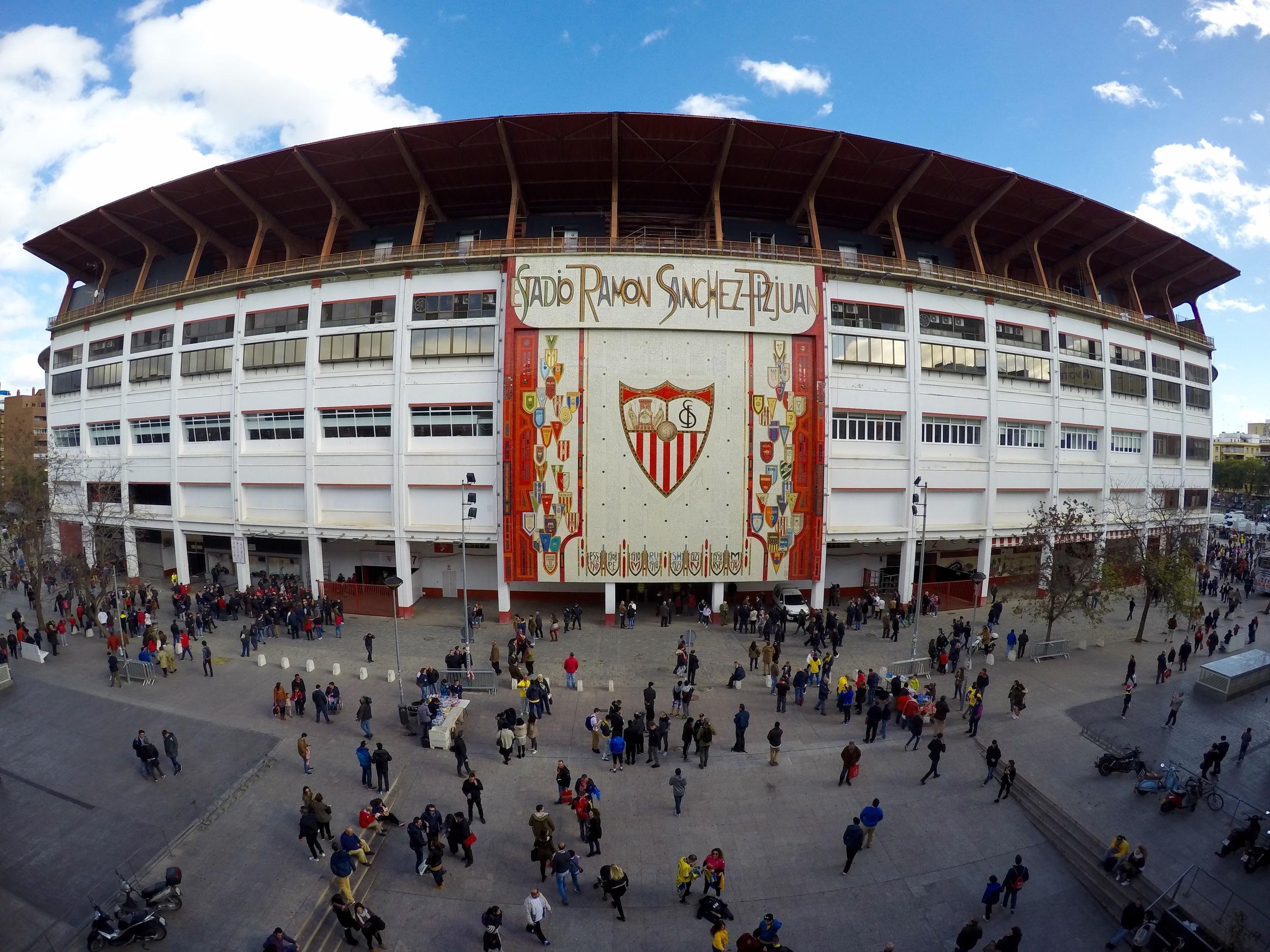 Ramon Sanchez Pizjuan Stadium, Seville FC, Seville, Andalucia, Spain, Europe | www.DoLessGetMoreDone.com |