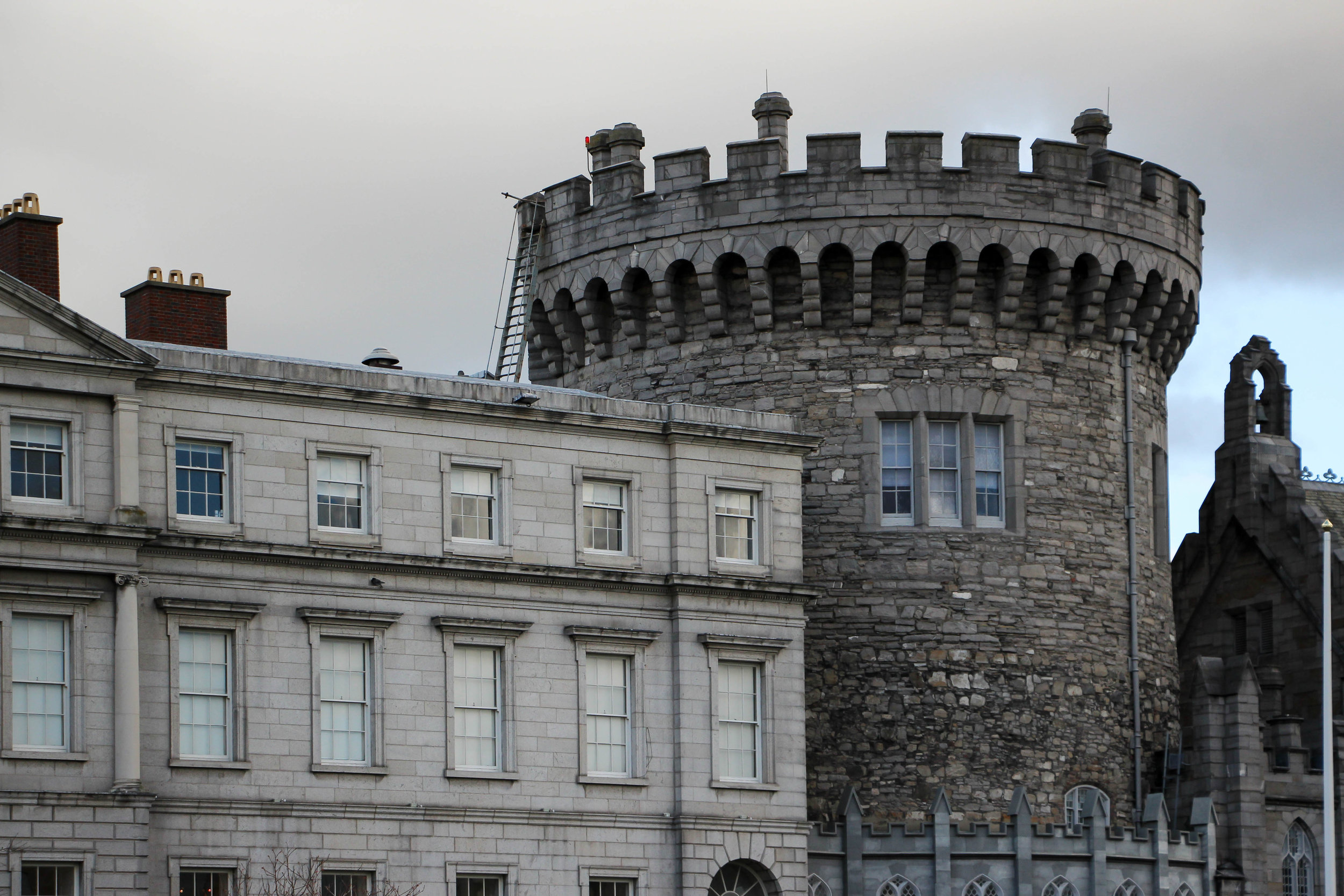 Dublin Castle, Dublin, Ireland, Europe | www.DoLessGetMoreDone.com |