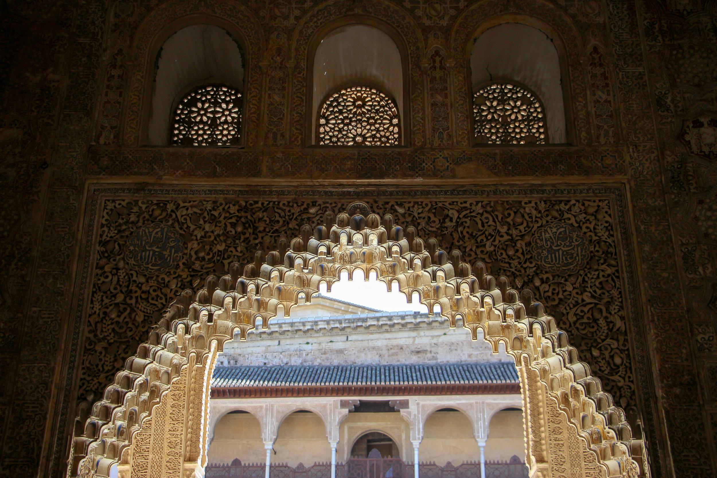 Alhambra, Granada, Andalusia, Spain, Europe | www.DoLessGetMoreDone.com |