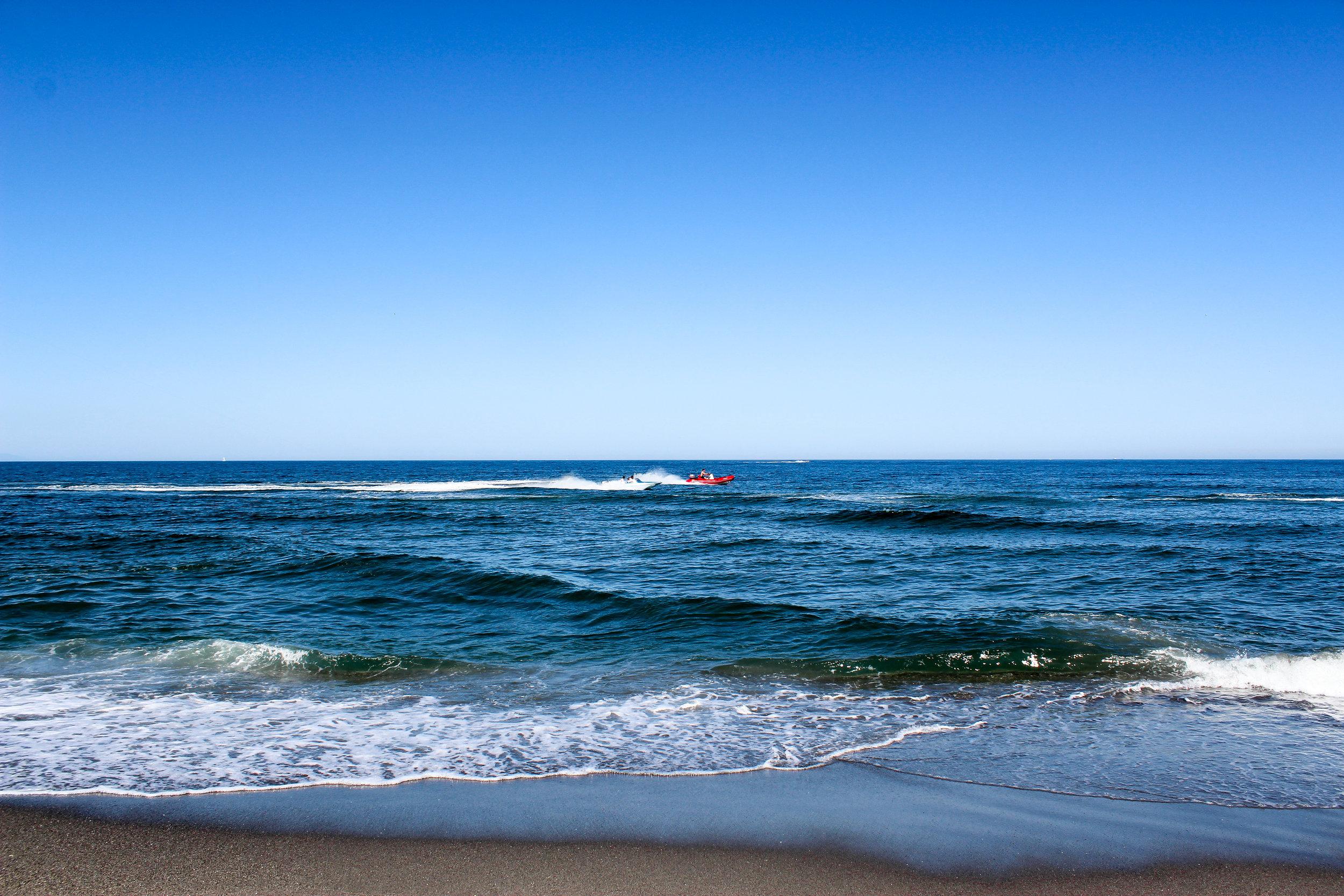 Playa de Levante, La Linea de la Concepcion, Mediterranean Sea, Cádiz, Andalusia, Spain, Europe | www.DoLessGetMoreDone.com |