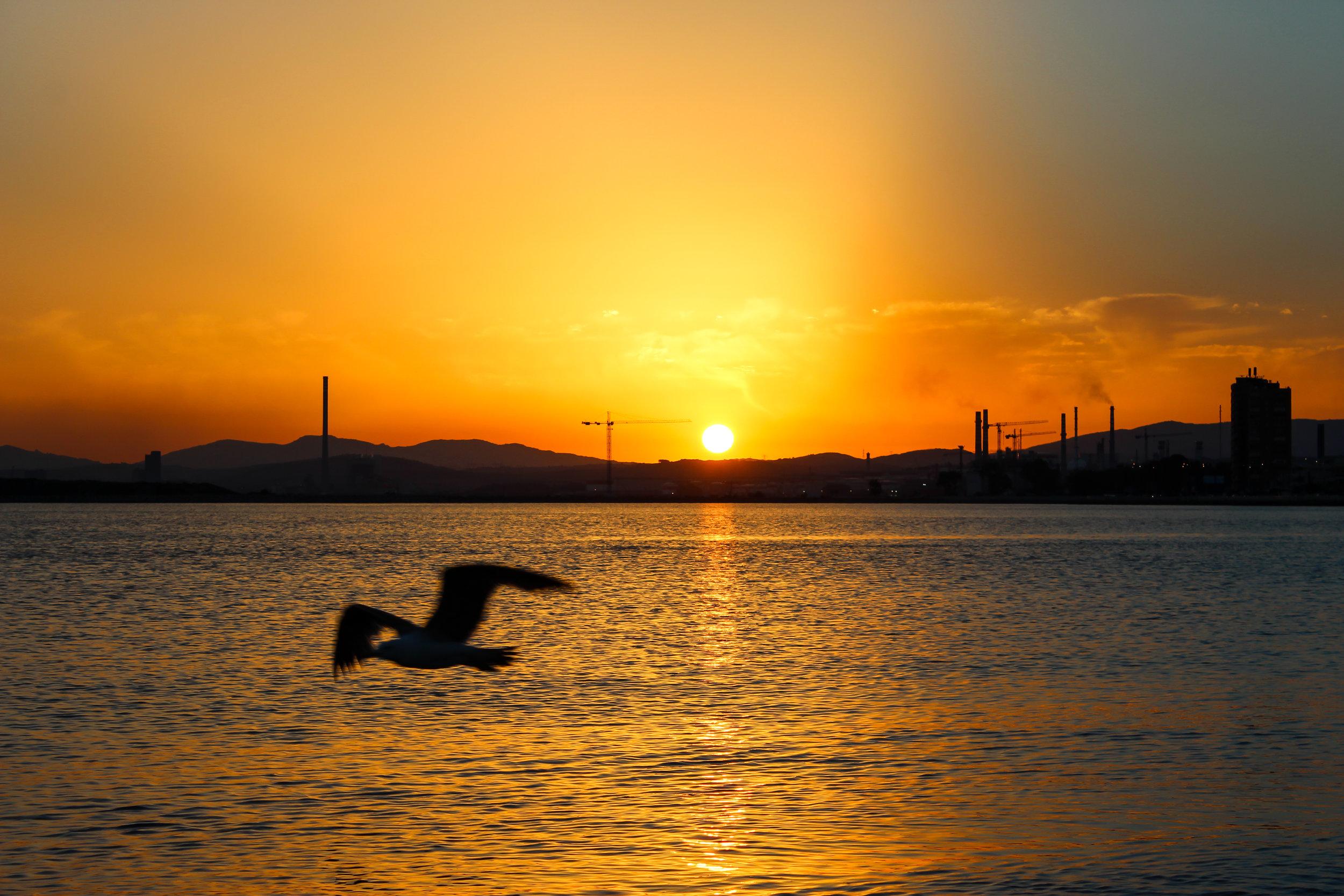 Port of Algeciras, La Linea de la Concepcion, Playa de Poniente,Mediterranean Sea ,  Andalusia, Spain, Europe | www.DoLessGetMoreDone.com |