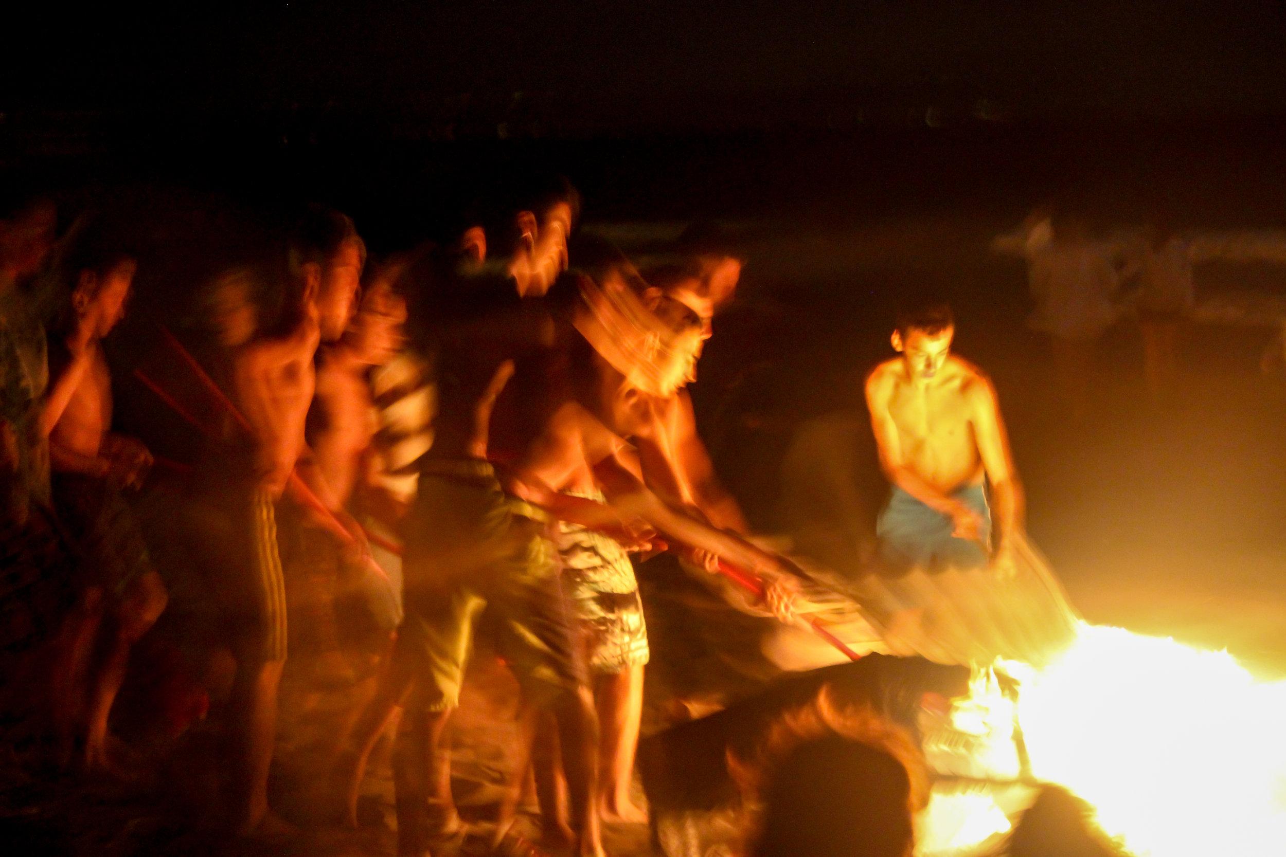 The Night of San Juan, bonfire festival, Playa de Santa Bárbara, La Linea de la Concepcion, Mediterranean Sea, Cádiz, Andalusia, Spain, Europe | www.DoLessGetMoreDone.com |