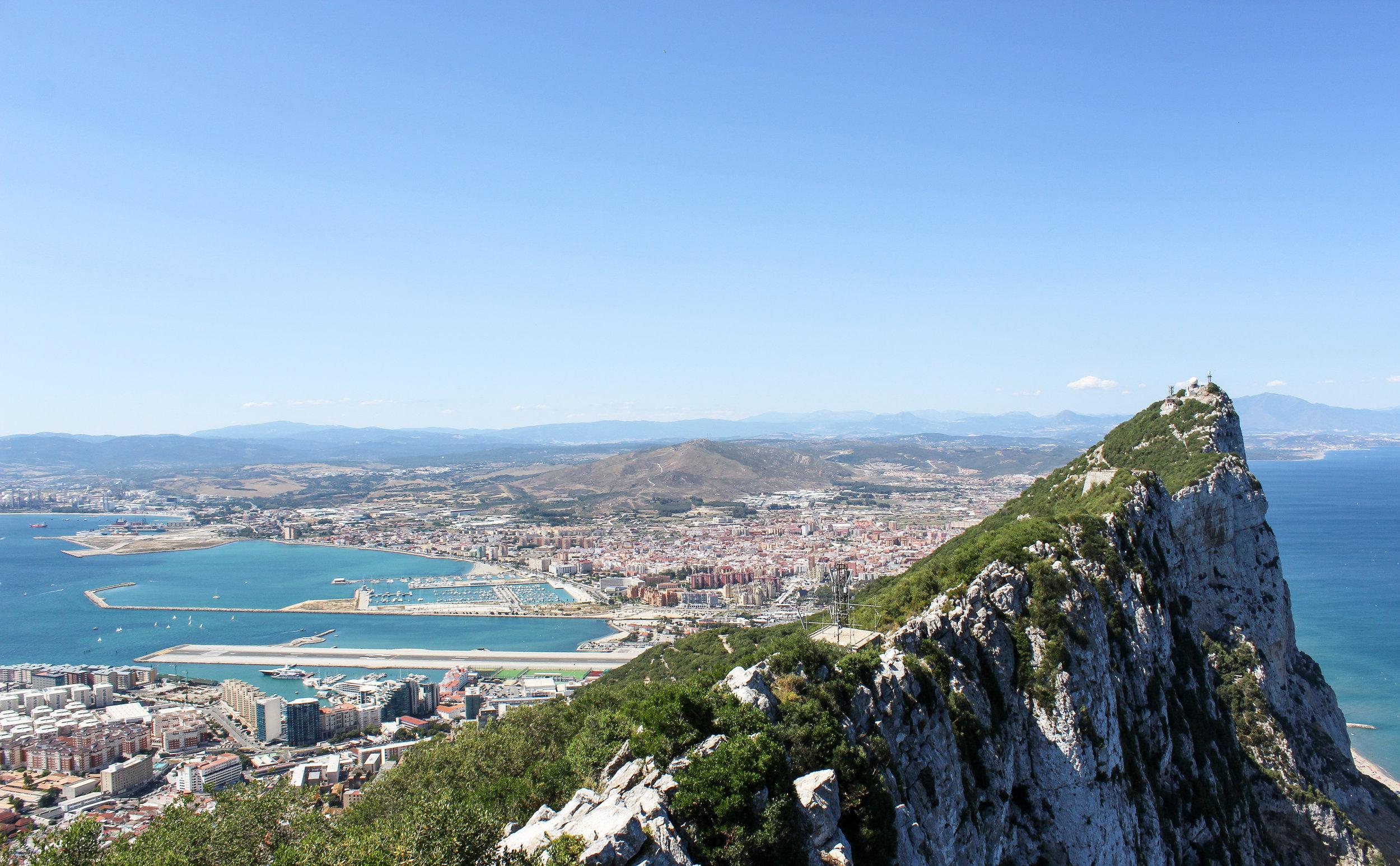Upper Rock Nature Reserve, Straits of Gibraltar, Gibraltar Bay, Mediterranean, Gibraltar, British Overseas Territory, La Linea de la Concepcion, Spain, Europe | www.DoLessGetMoreDone.com |
