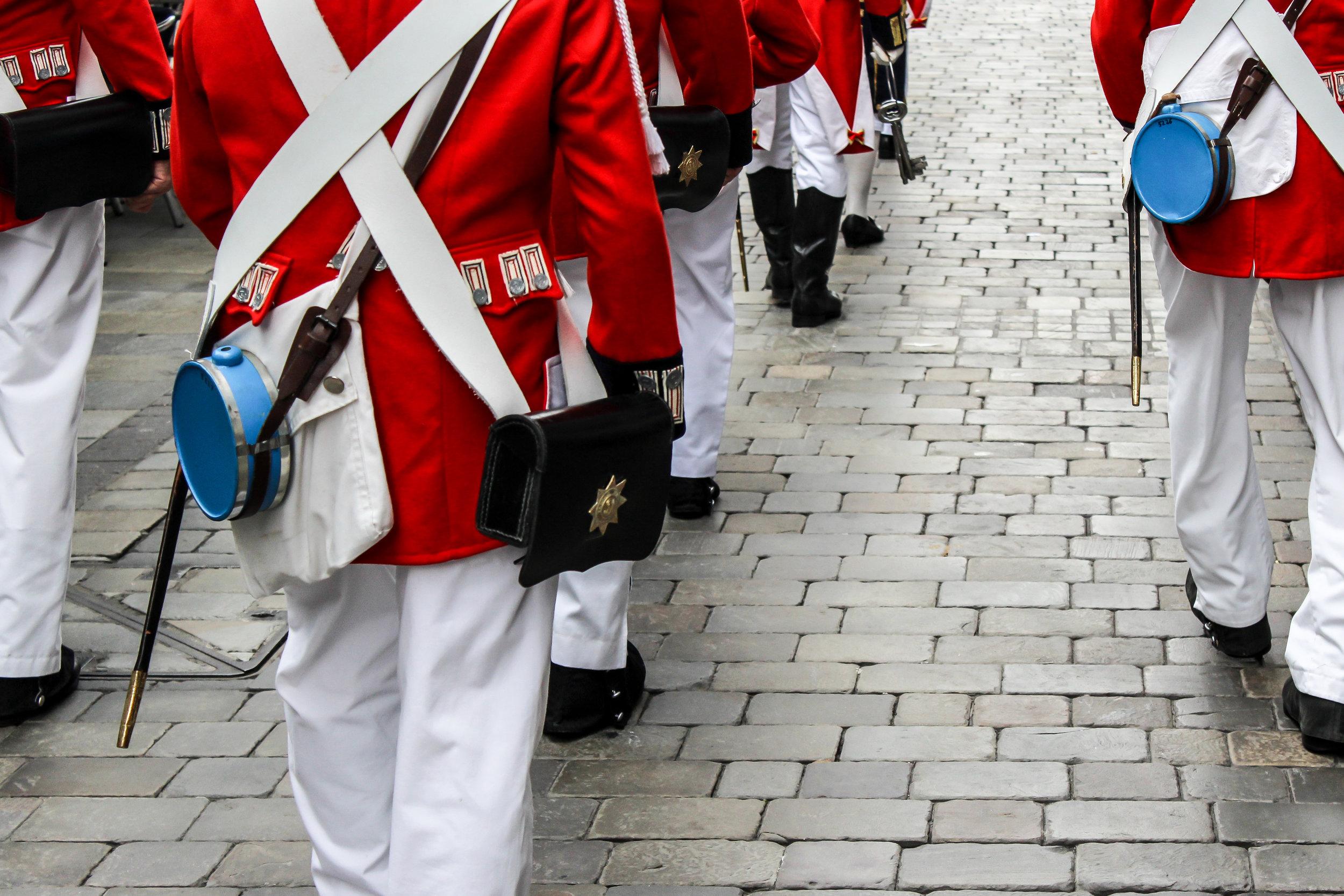 Ceremony of the Keys, Main Street, Gibraltar, British Overseas Territory, Europe | www.DoLessGetMoreDone.com |