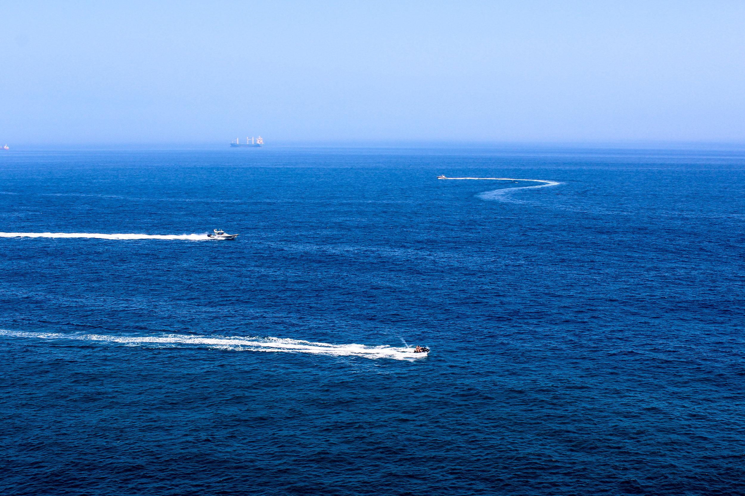 Mediterranean Sea, Gibraltar, British Overseas Territory, Europe | www.DoLessGetMoreDone.com |