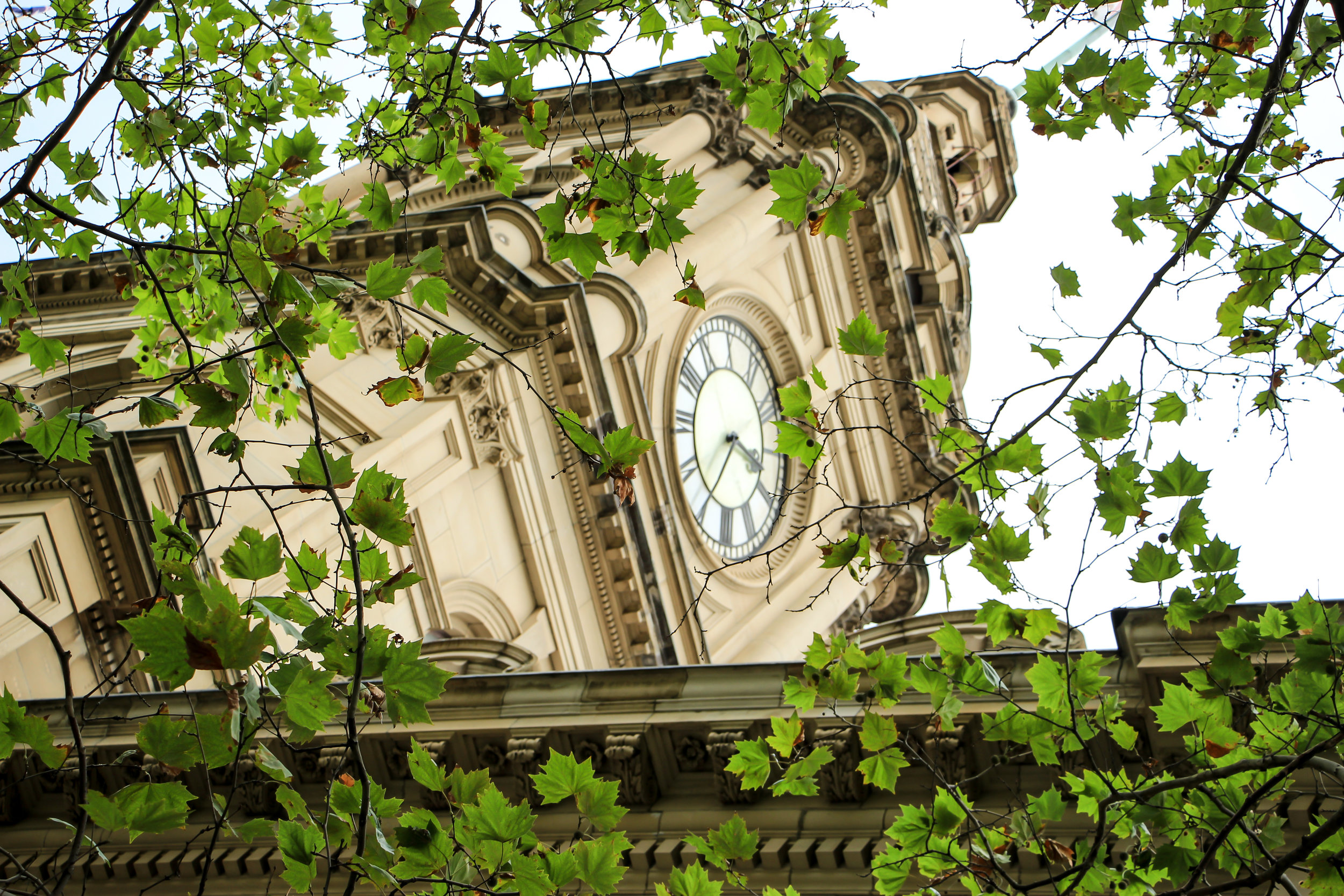 General Post Office Clock Tower, Melbourne, Australia | DoLessGetMoreDone.com |