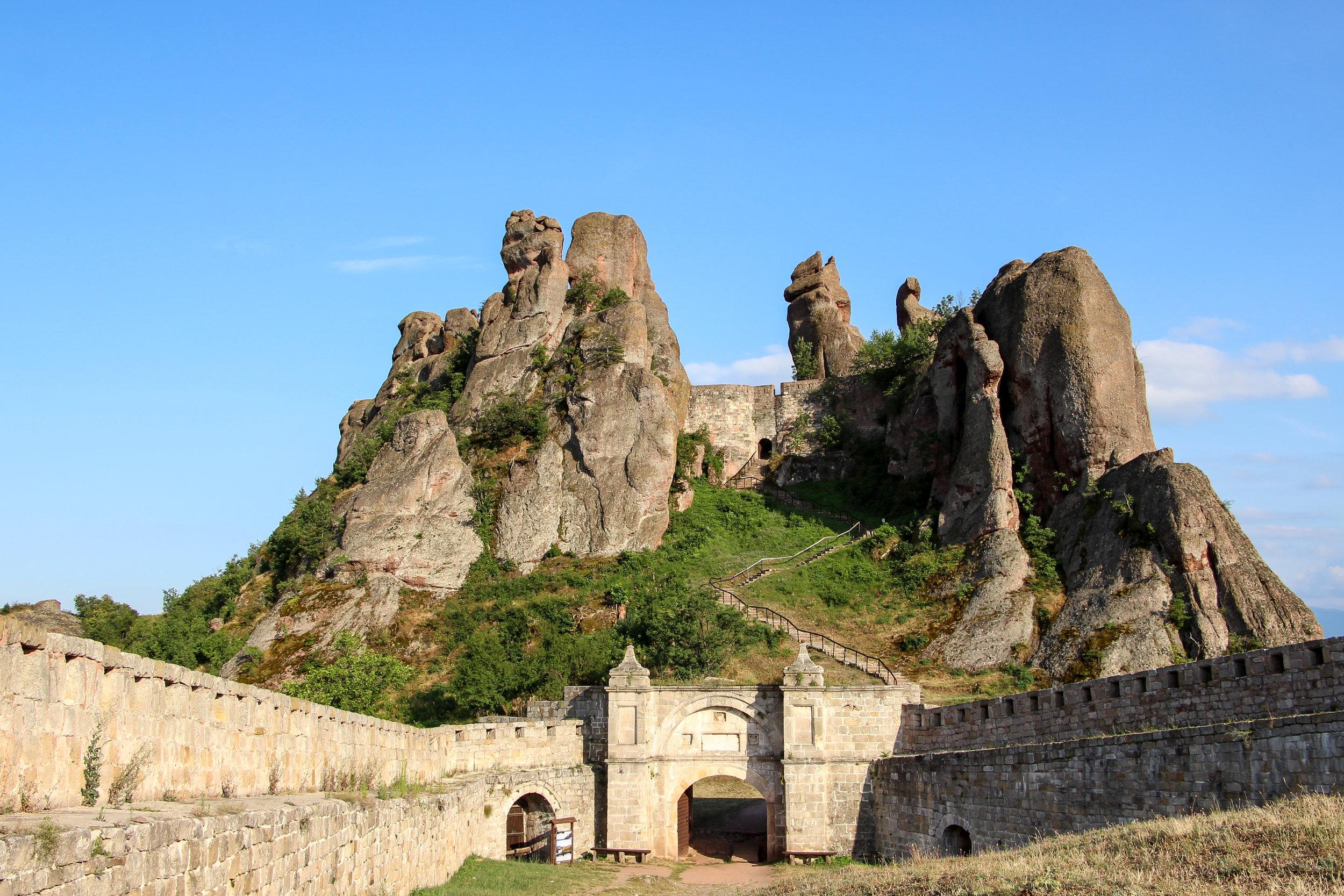 Belogradchik Fortress, Bulgaria, Europe | DoLessGetMoreDone.com |