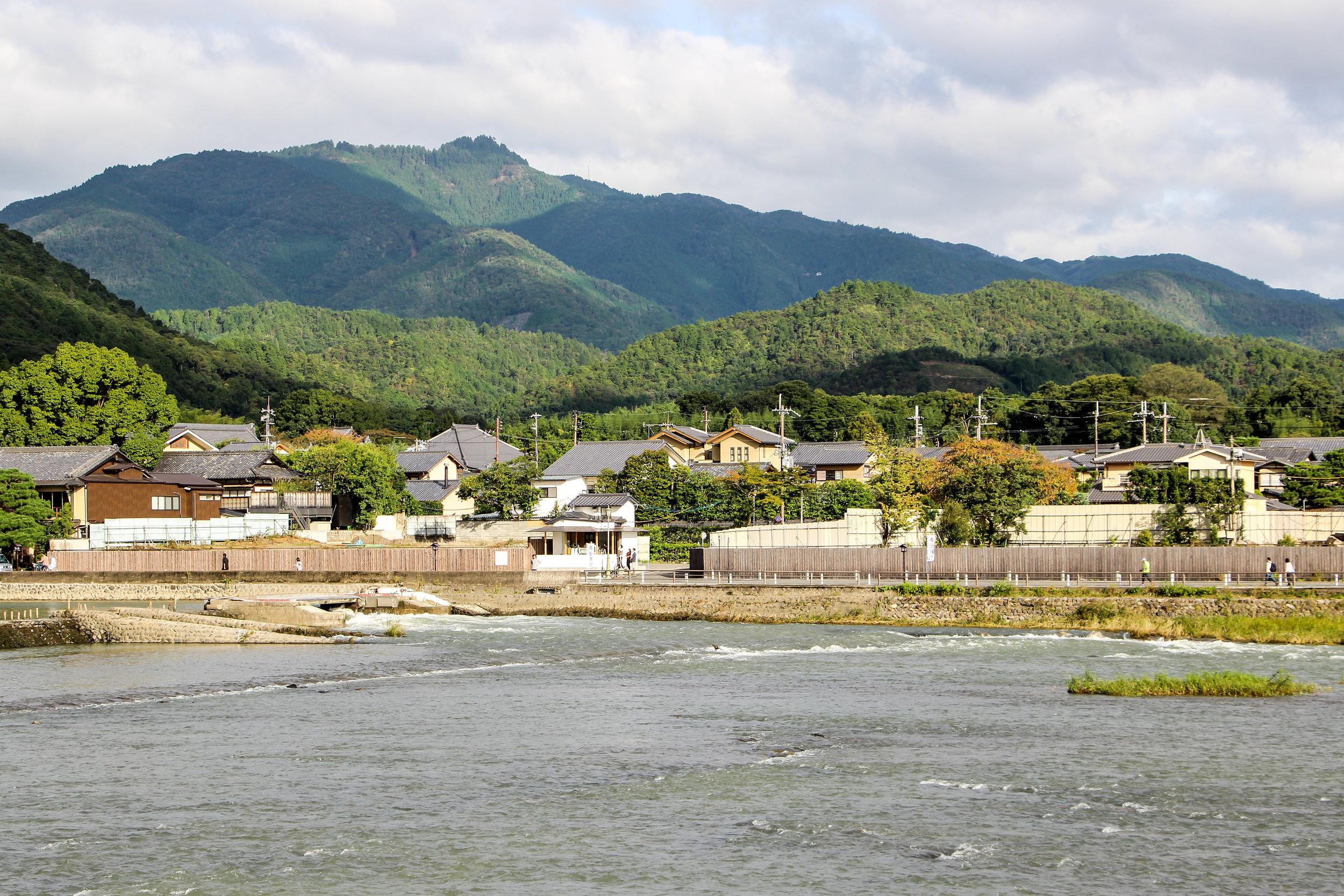 Katsura River, Arashiyama Mountain, Kyoto, Japan, East Asia | DoLessGetMoreDone.com |
