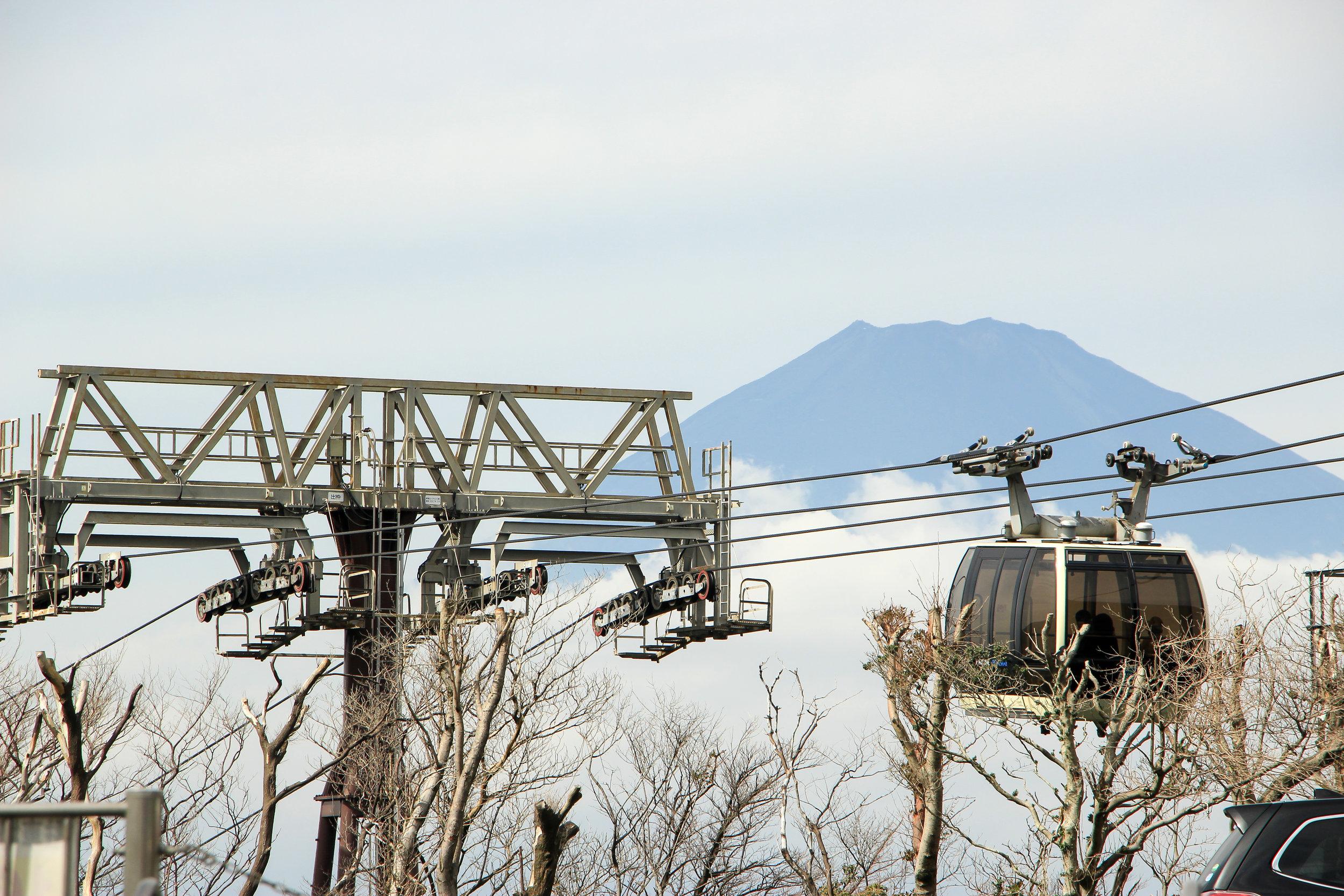 Hakone In A Simple Way Like That | Fuji, Owakudani, Hakone, Volcano, Ropeway | Fuji-Hakone-Izu National Park, Japan, Asia | DoLessGetMoreDone.com |