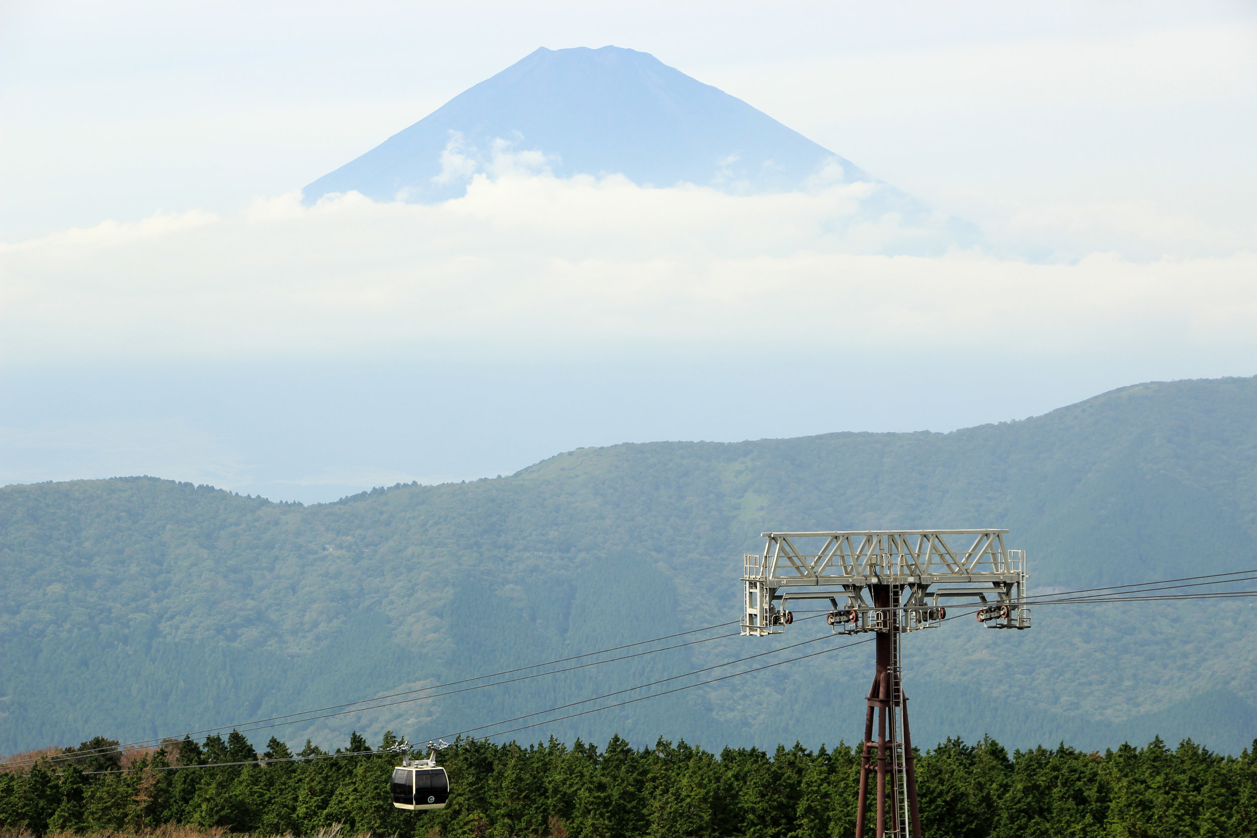 Hakone In A Simple Way Like That | Fuji, Owakudani, Hakone, Volcano, Ropeway | Fuji-Hakone-Izu National Park, Japan, Asia | DoLessGetMoreDone.com |