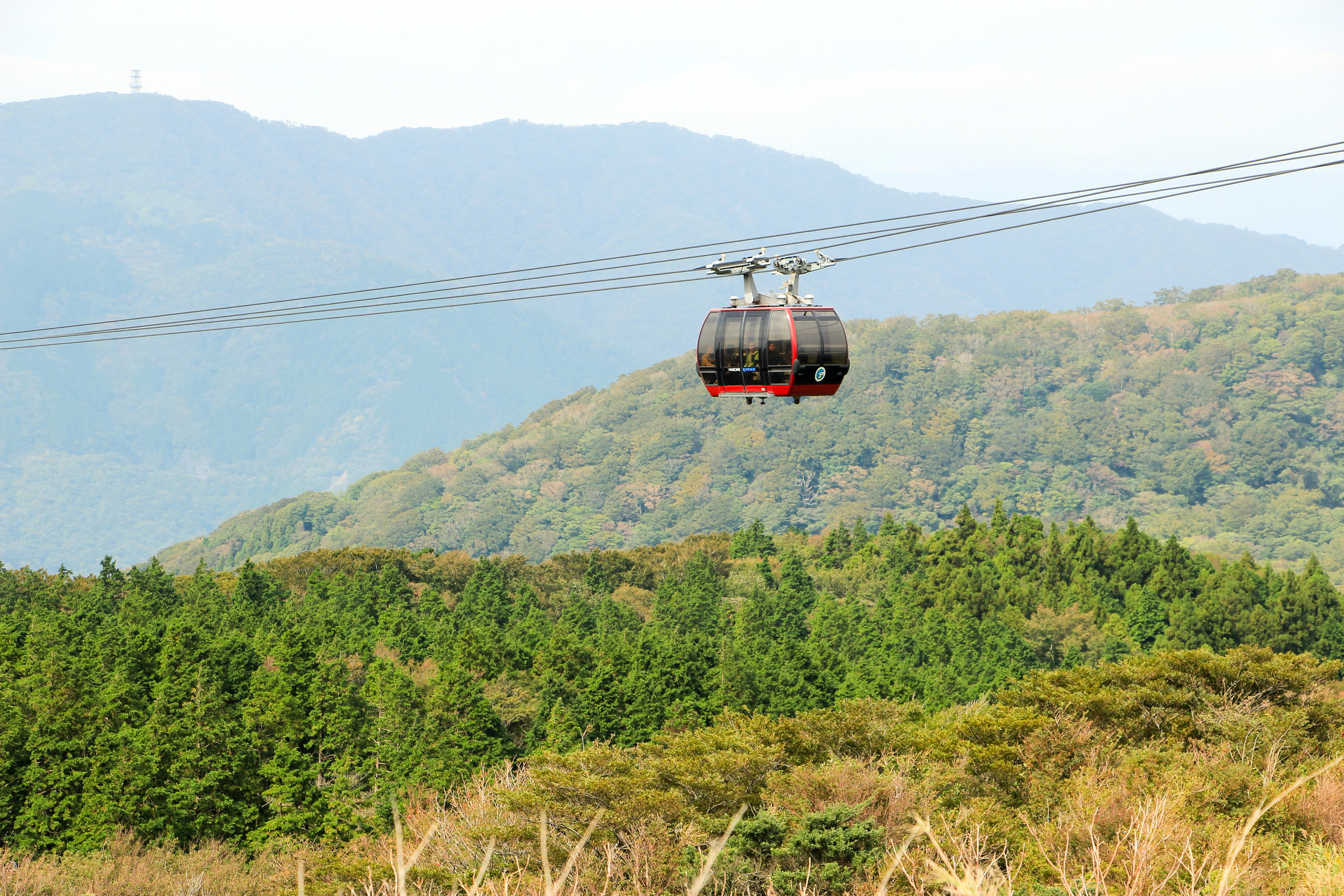 Hakone In A Simple Way Like That | Owakudani, Hakone Ropeway, Fuji-Hakone-Izu National Park | Japan, Asia | DoLessGetMoreDone.com |