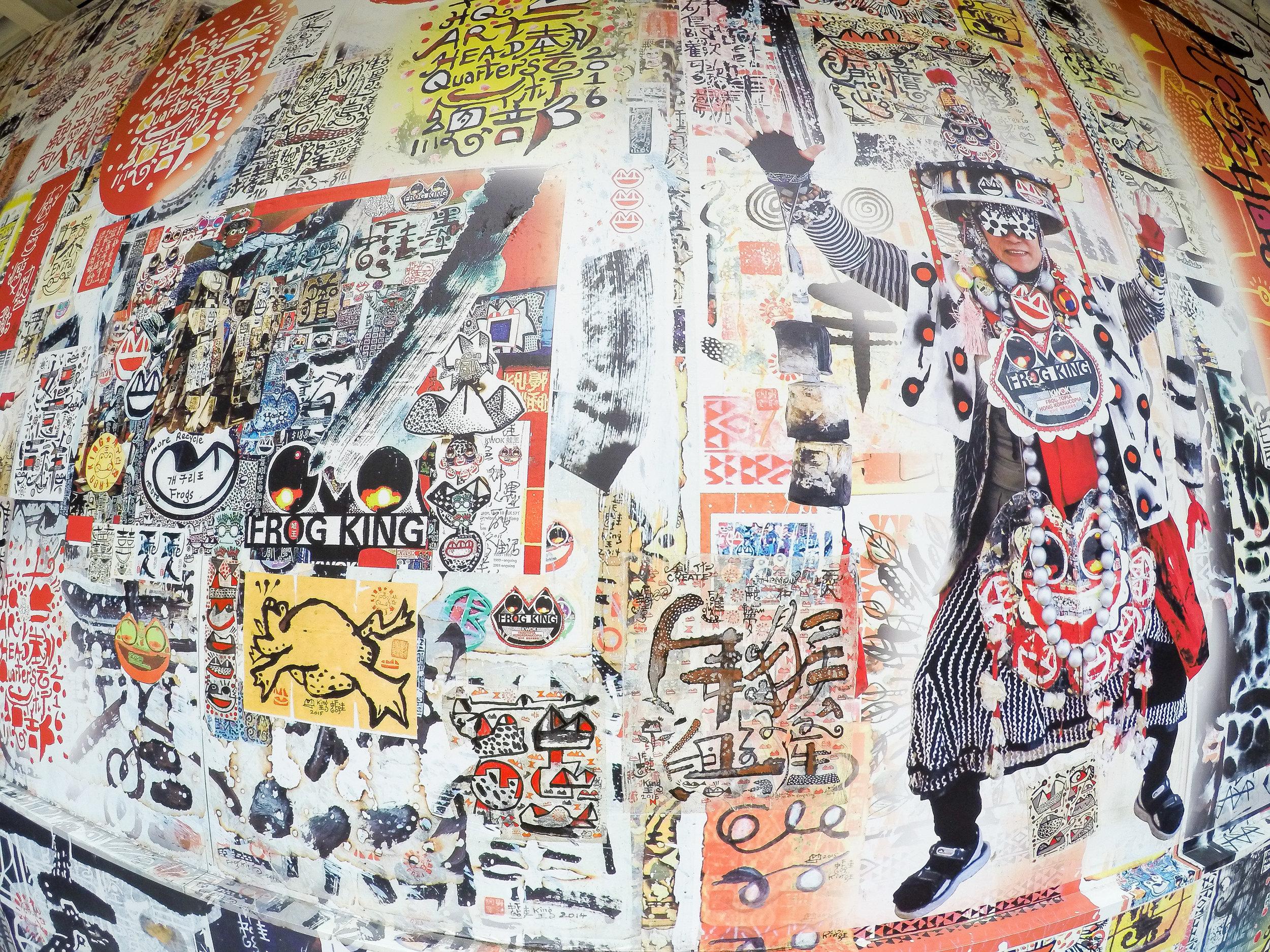 Hong Kong, Hong Kong Island, street art, Asia | DoLessGetMoreDone.com |