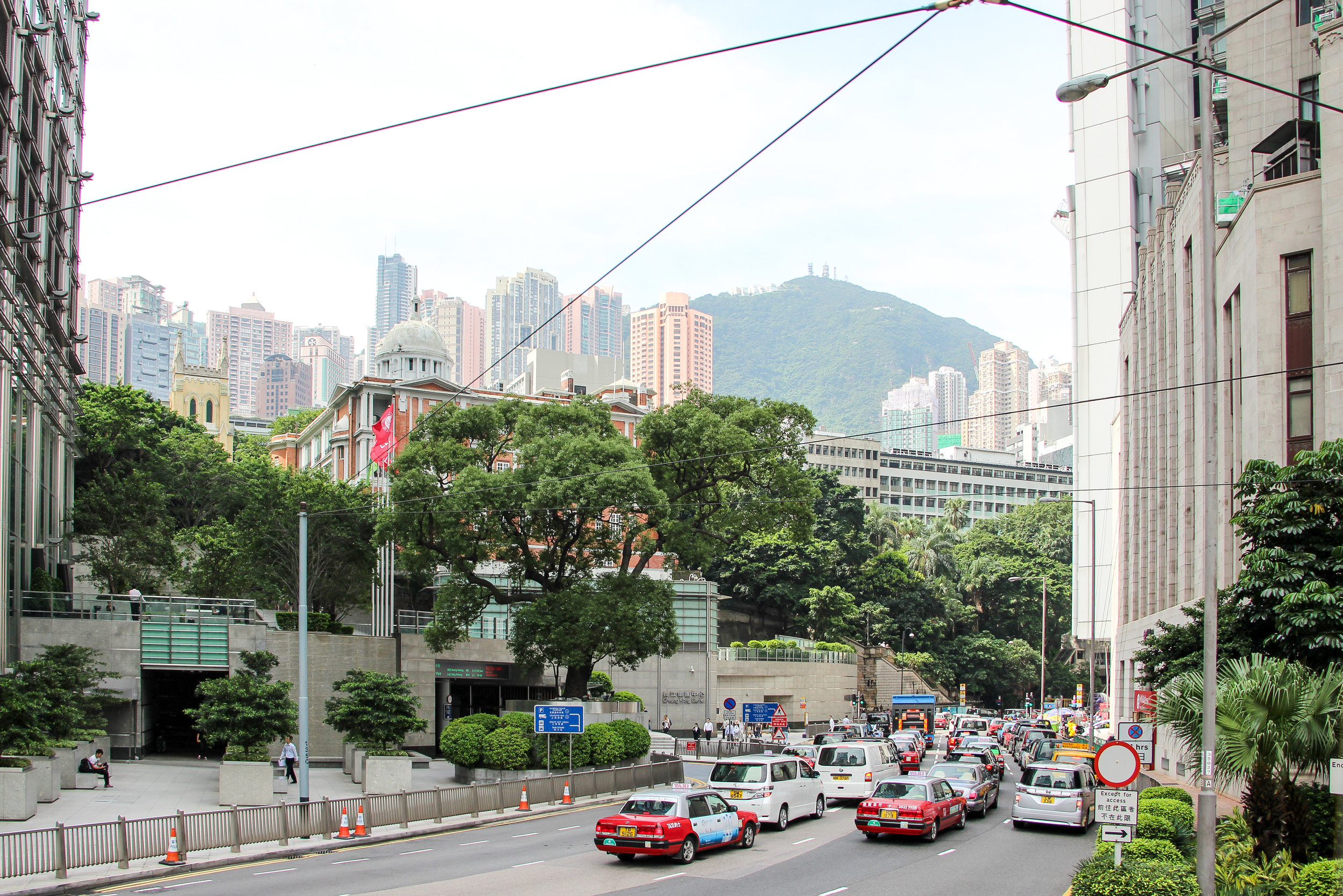 Hong Kong, Hong Kong Island, street photography, traffic, Asia | DoLessGetMoreDone.com |
