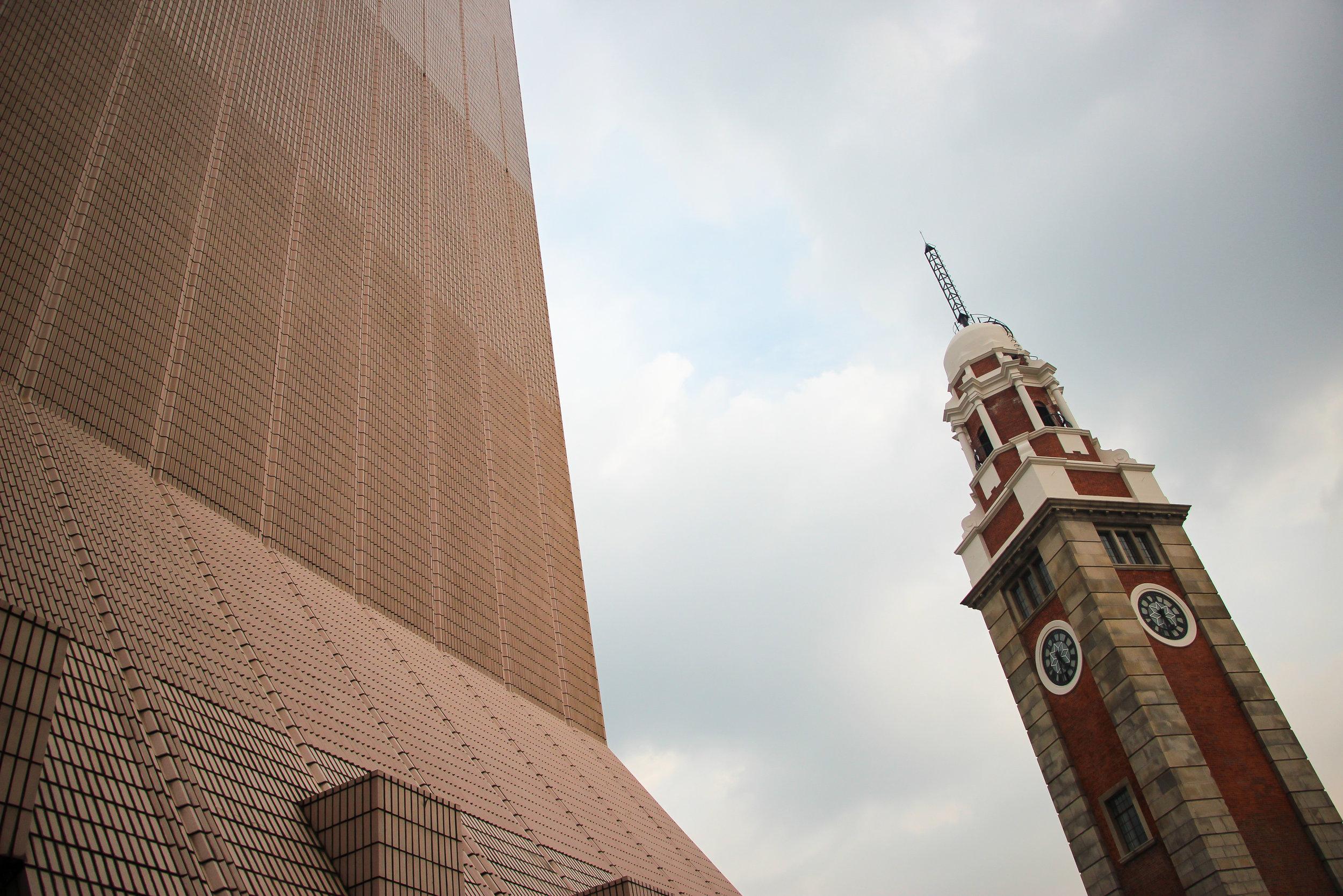 HONG KONG, KOWLOON, architecture, clock tower, minimal, ASIA | DOLESSGETMOREDONE.COM |