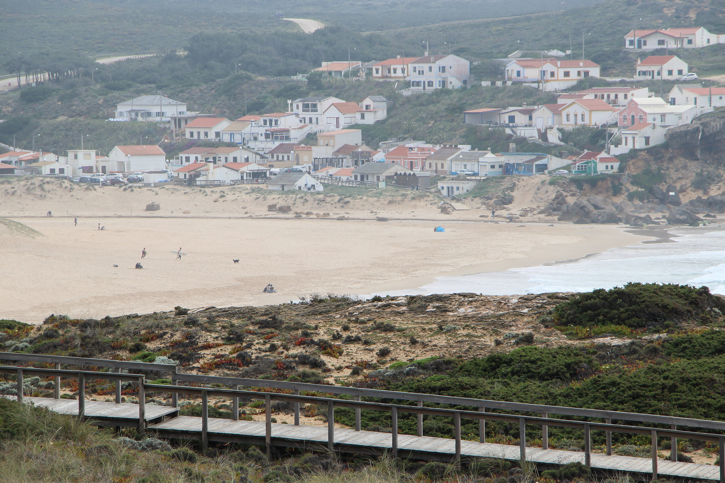 Praia de Monte Clerigo, Portugal, Europe | DoLessGetMoreDone.com | What can we do to make it better?
