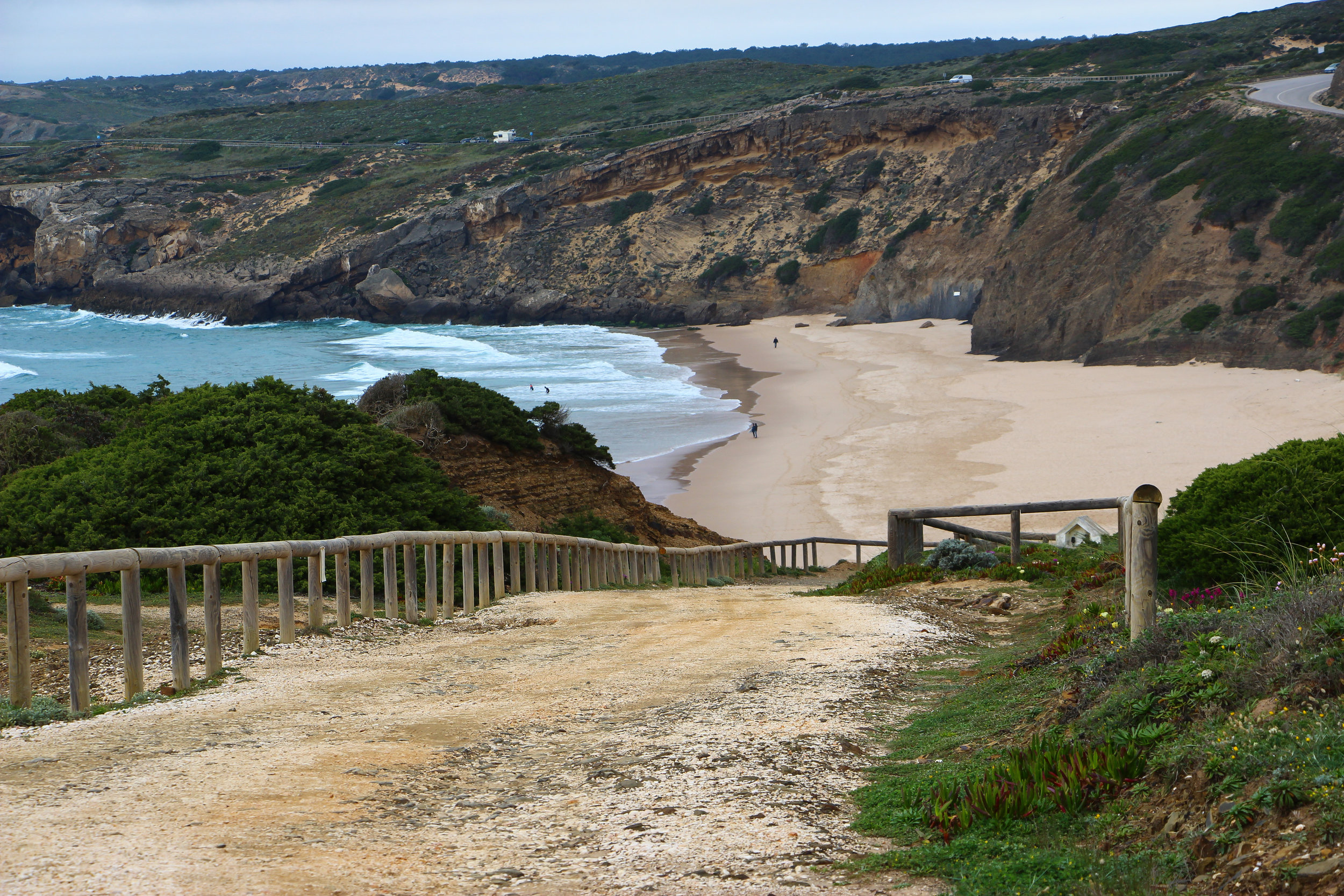 Praia da Arrifana, Portugal, Europe | DoLessGetMoreDone.com | What can we do to make it better?