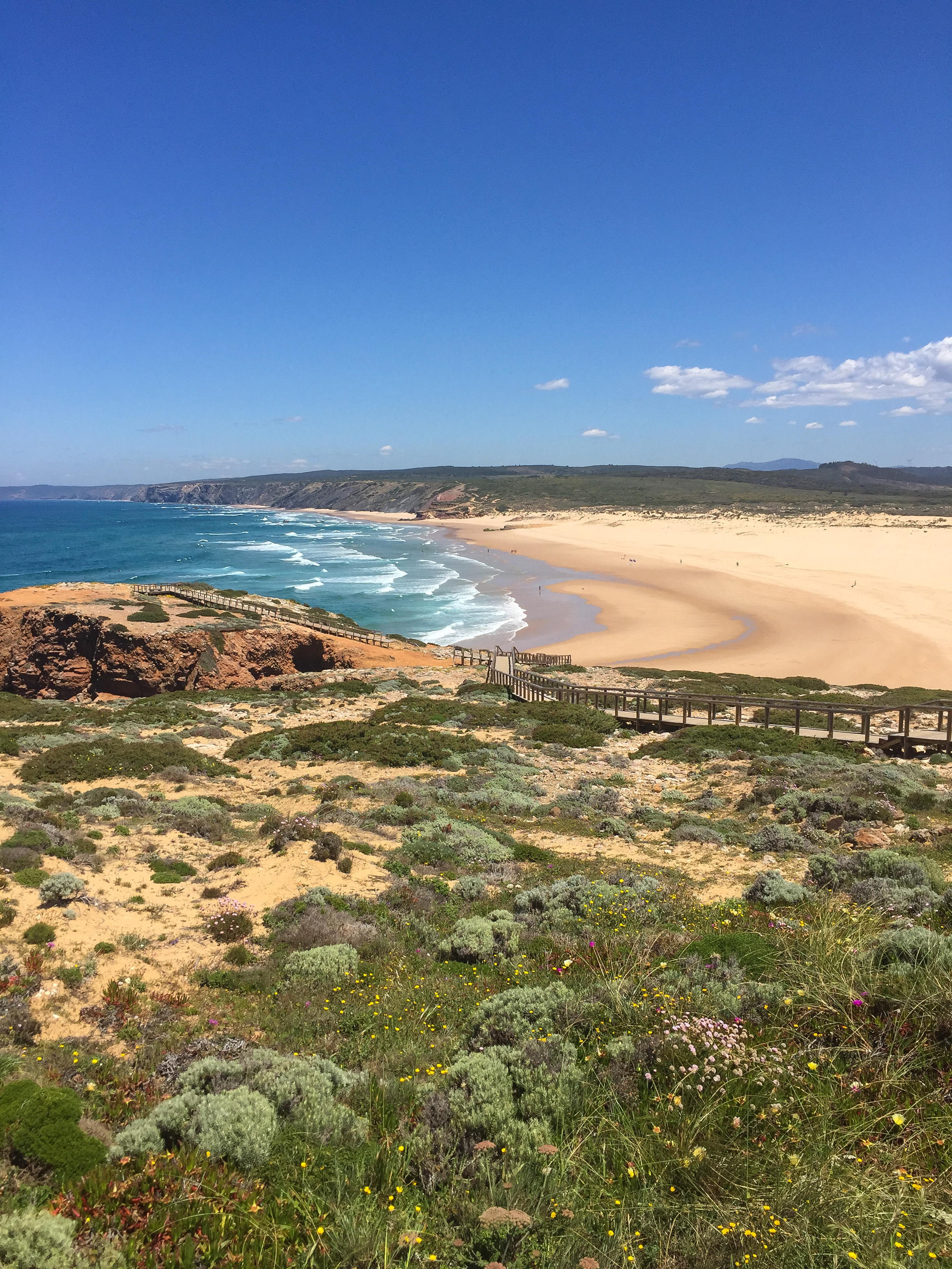 Praia da Bordeira, Portugal, Europe | DoLessGetMoreDone.com | What can we do to make it better?