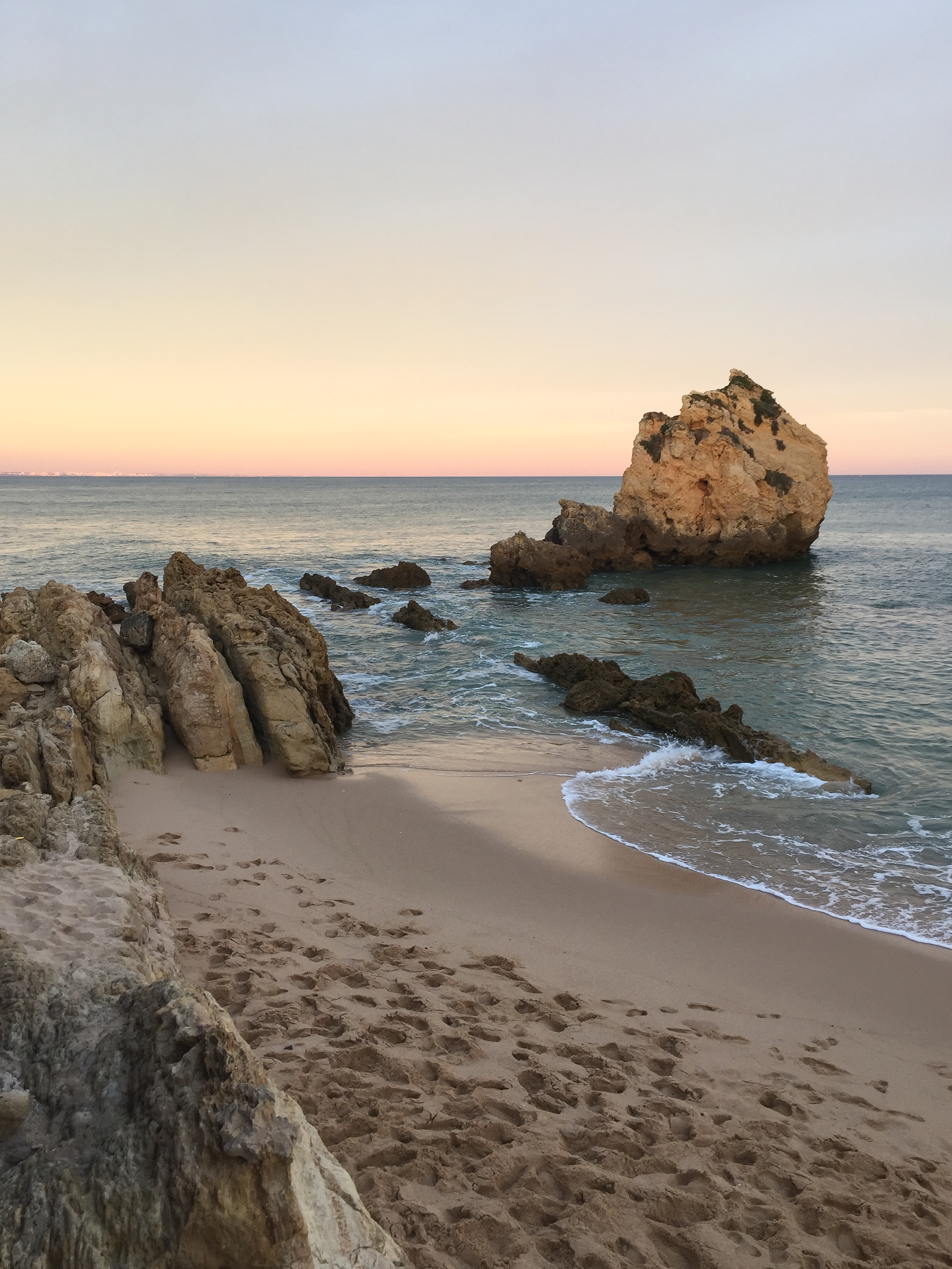 Praia de Arrifes, Portugal, Europe | DoLessGetMoreDone.com | What can we do to make it better?