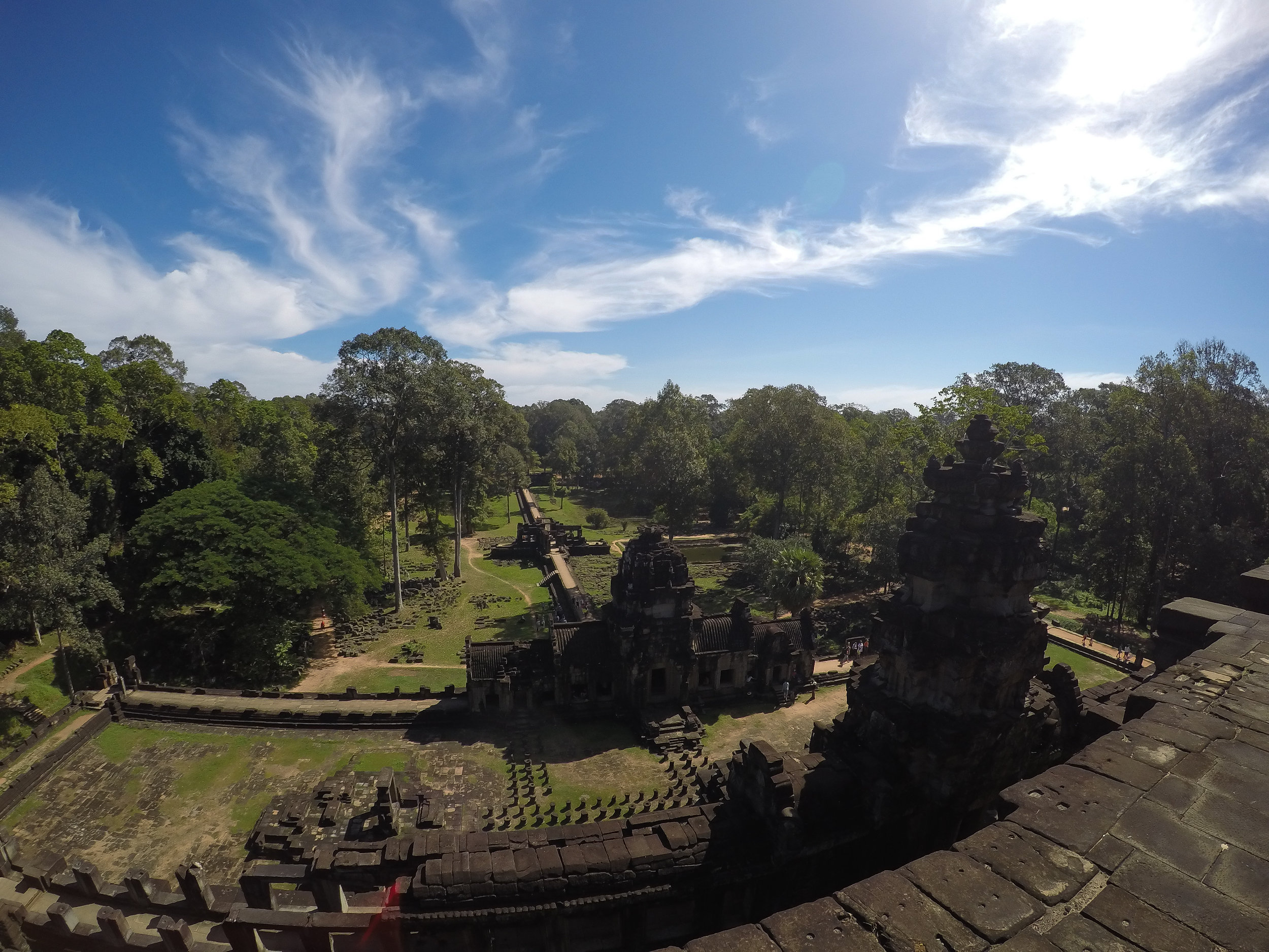 One Moment At A Time | Baphuon, Angkor Thom, Siem Reap, Cambodia, Asia | DoLessGetMoreDone.com |