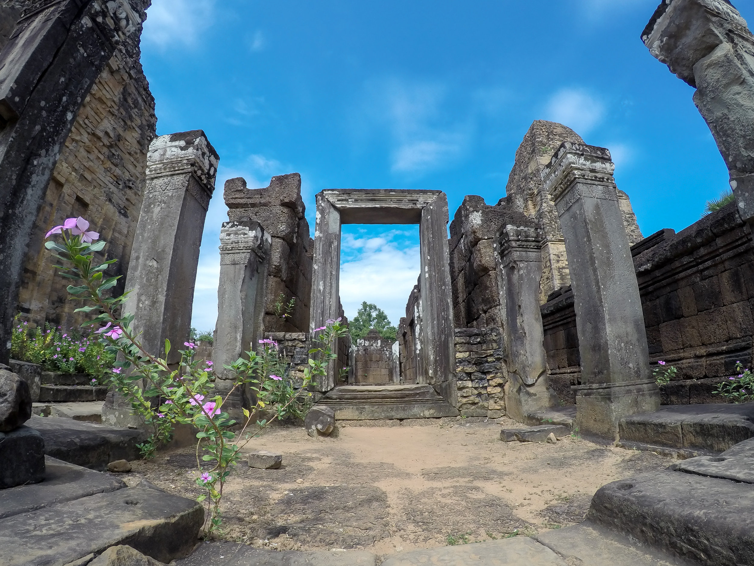 One Moment At A Time | East Mebon, Angkor, Siem Reap, Cambodia, Asia | DoLessGetMoreDone.com |