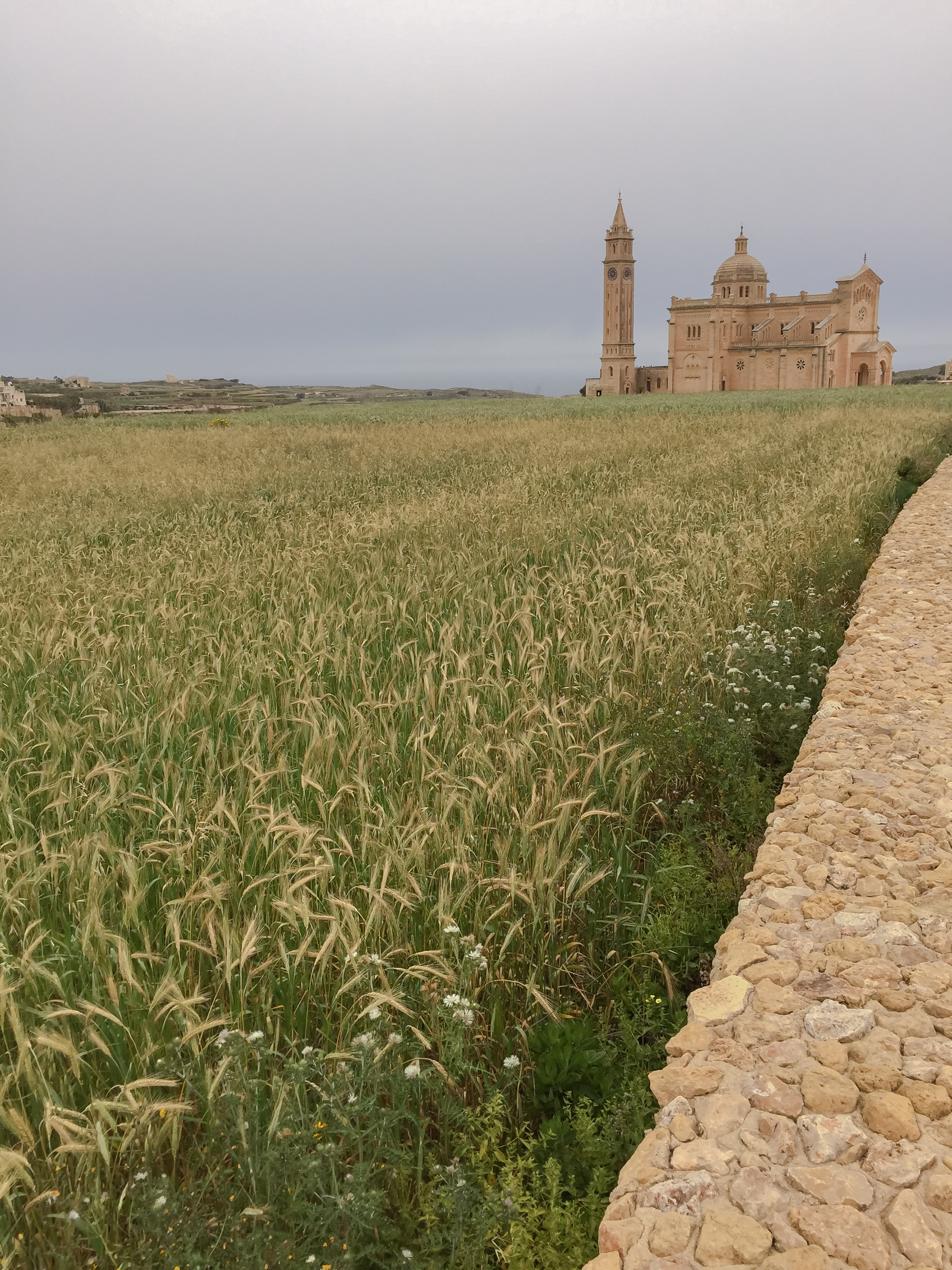 Shrine of Our Lady of Ta' Pinu Roman Catholic Minor Basilica | MAltese Islands Nature | LAndscape - Thinking About Appreciation For Quality In Malta | Gozo, Malta, Europe | DoLessGetMoreDone.com | - iPone Minimal Fine Art Travel Documentary Photography - search for Liveability | Sustainability