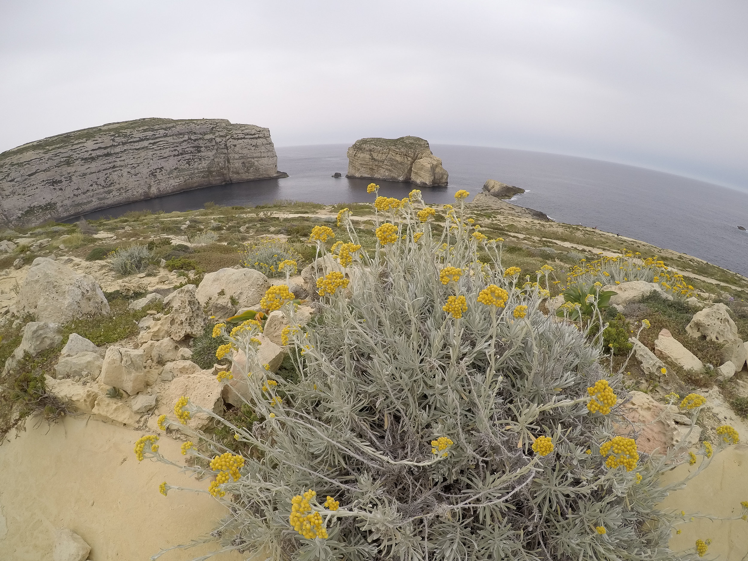 Dwejra Bay | Mediterranean Coast | Nature | LAndscape - Thinking About Appreciation For Quality In Malta | Gozo, Malta, Europe | DoLessGetMoreDone.com | - GoPro Minimal Travel Documentary Photography - search for Liveability | Sustainability